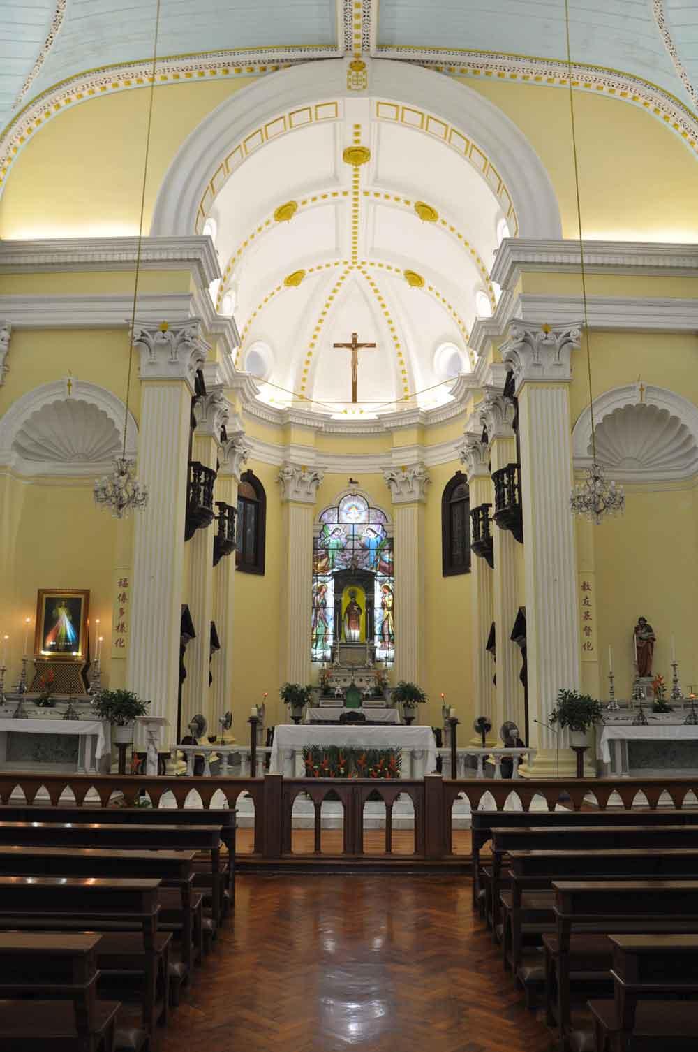 St. Lawrence Church Macau interior