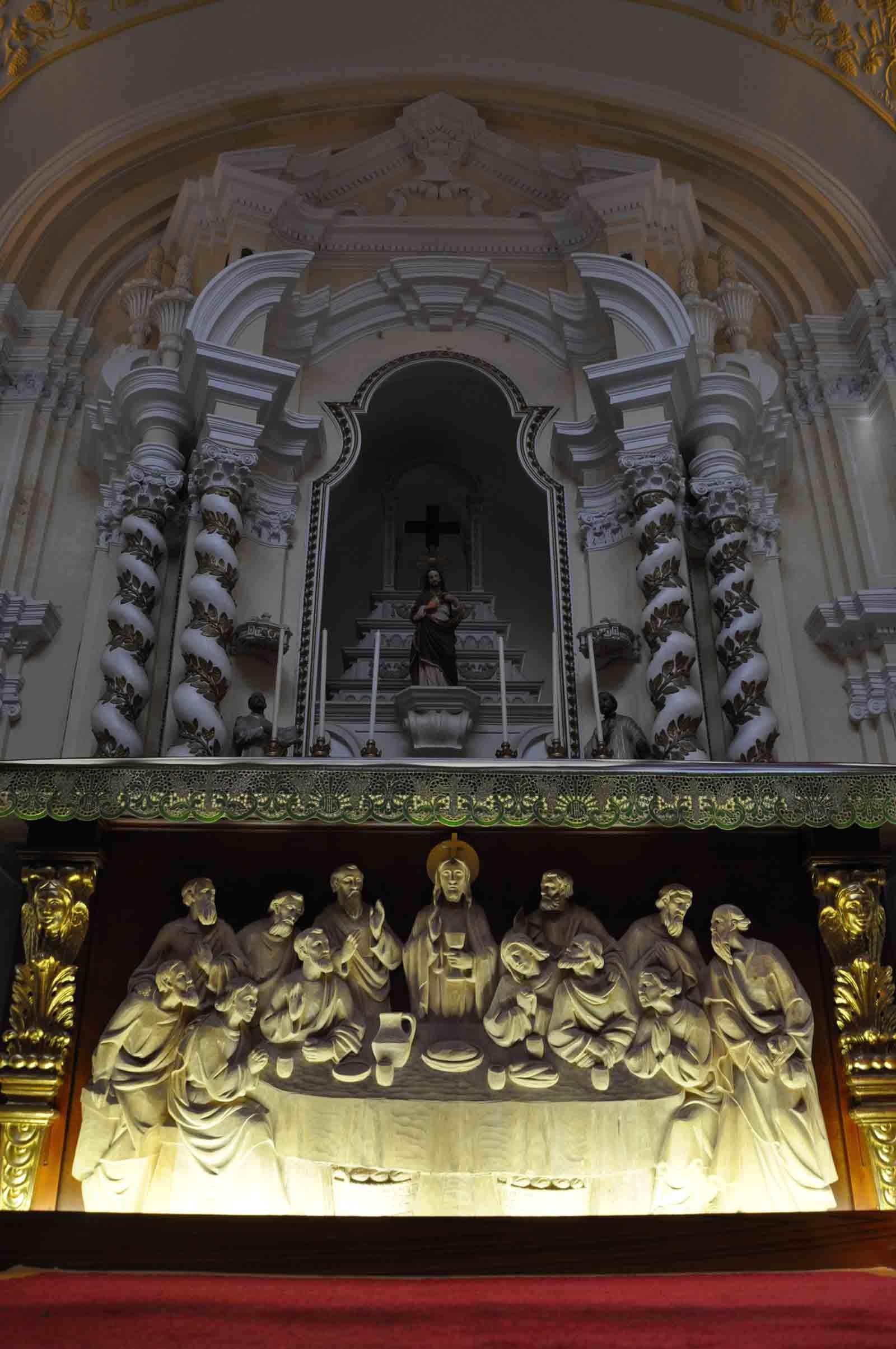 St Jospehs Church Macau altar