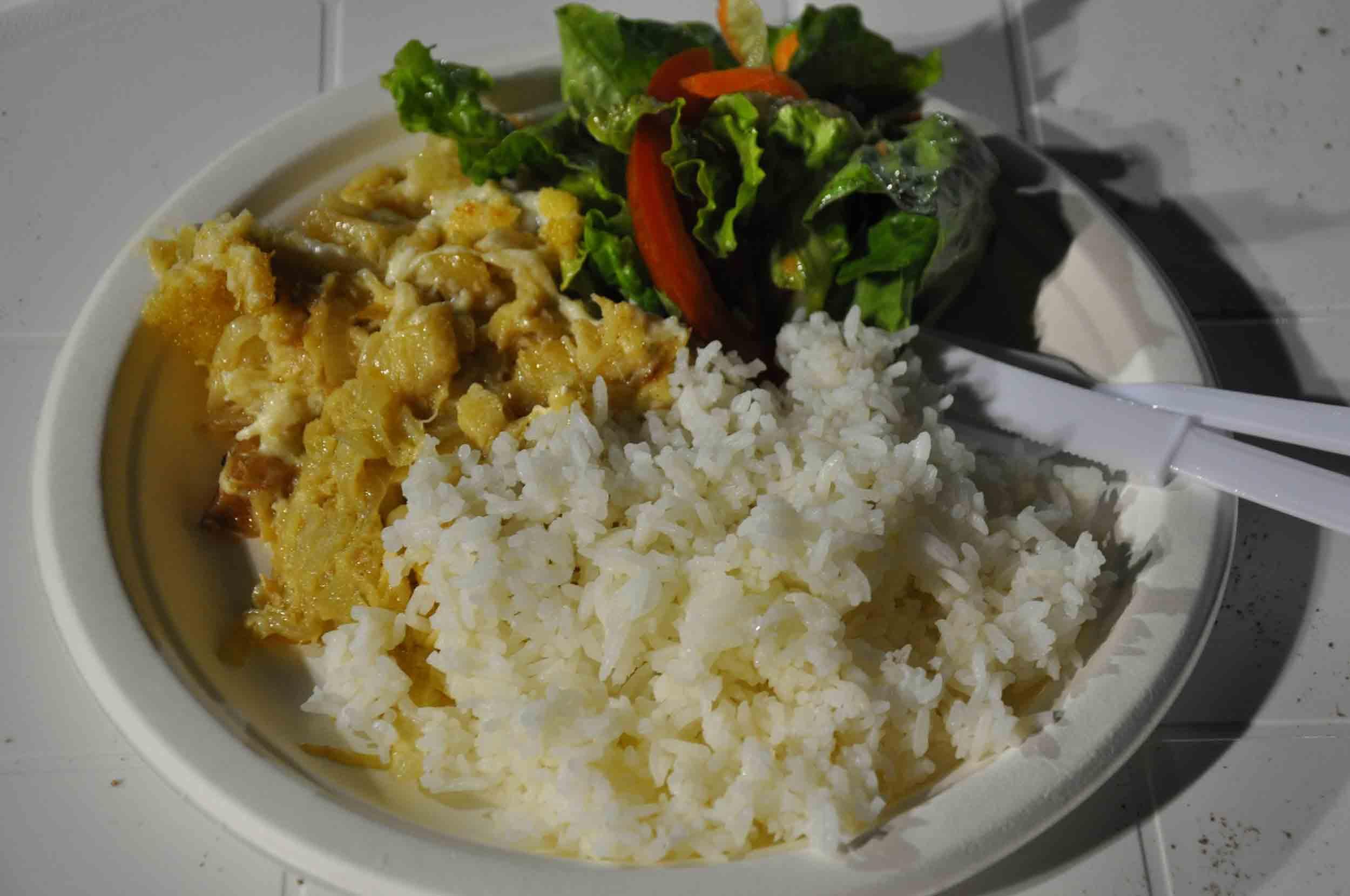 Lusofonia Festival Codfish with Cream