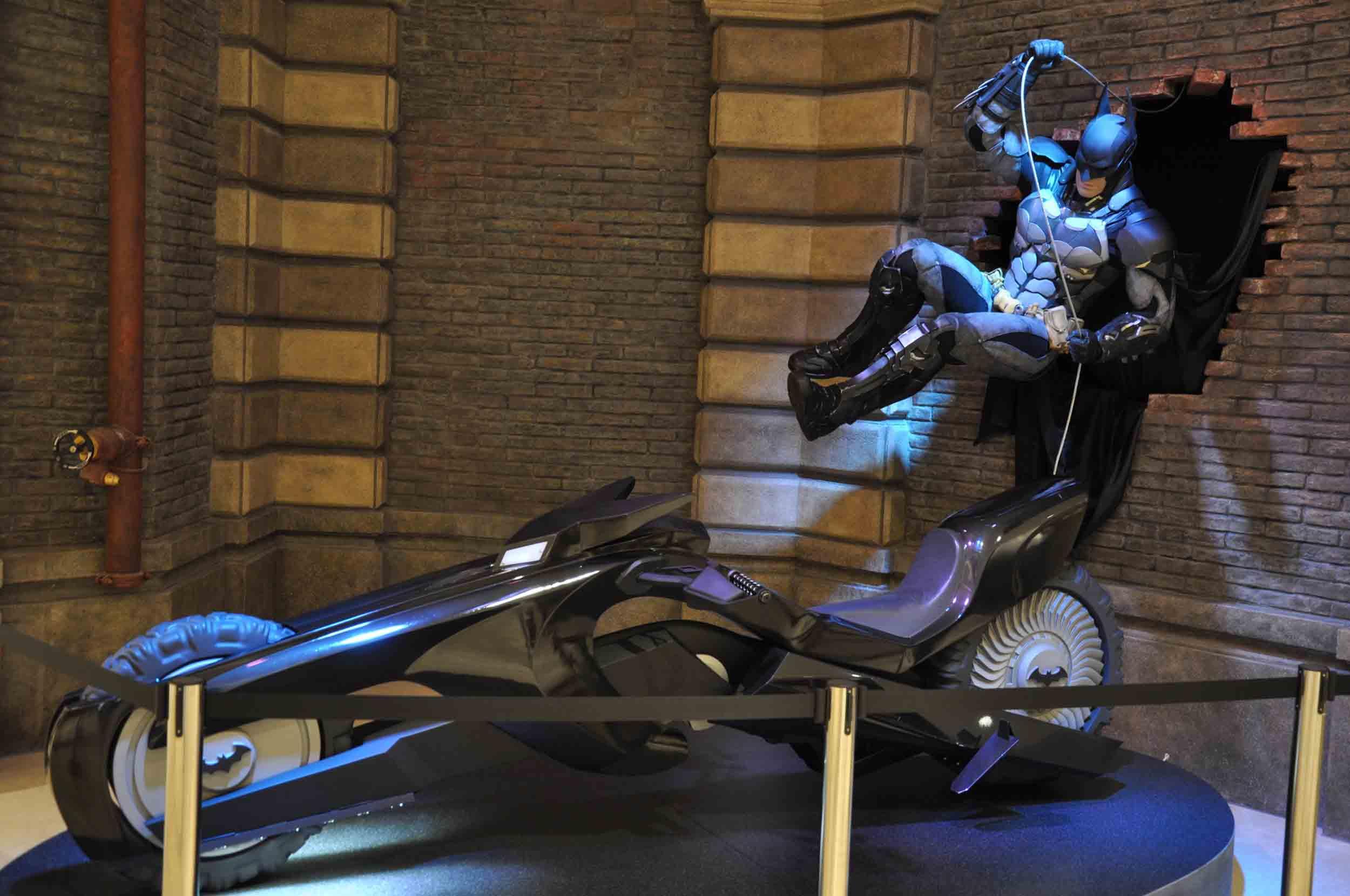 4D Dark Knight Batman Ride