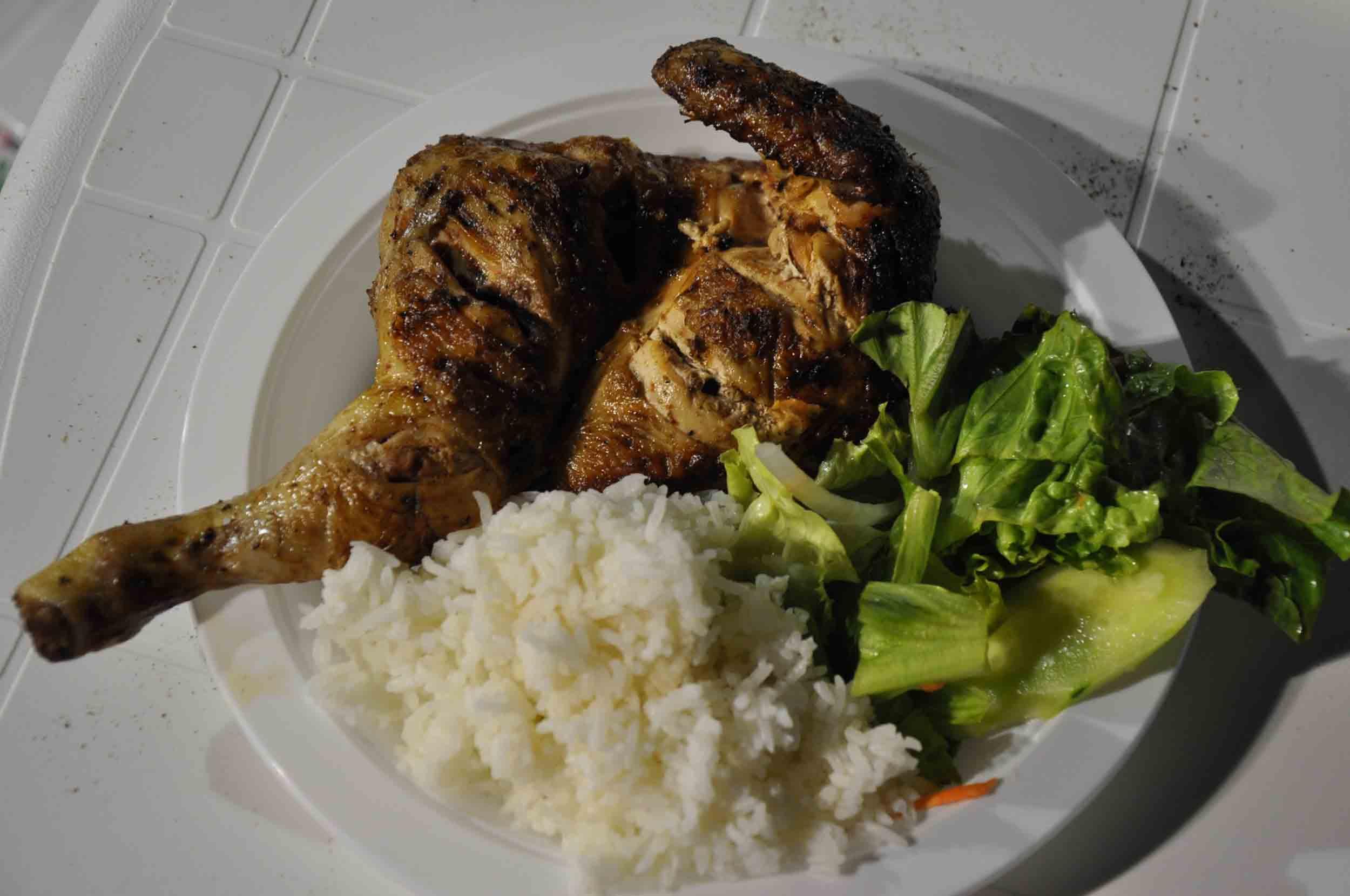 Lusofonia Festival Barbecue Chicken