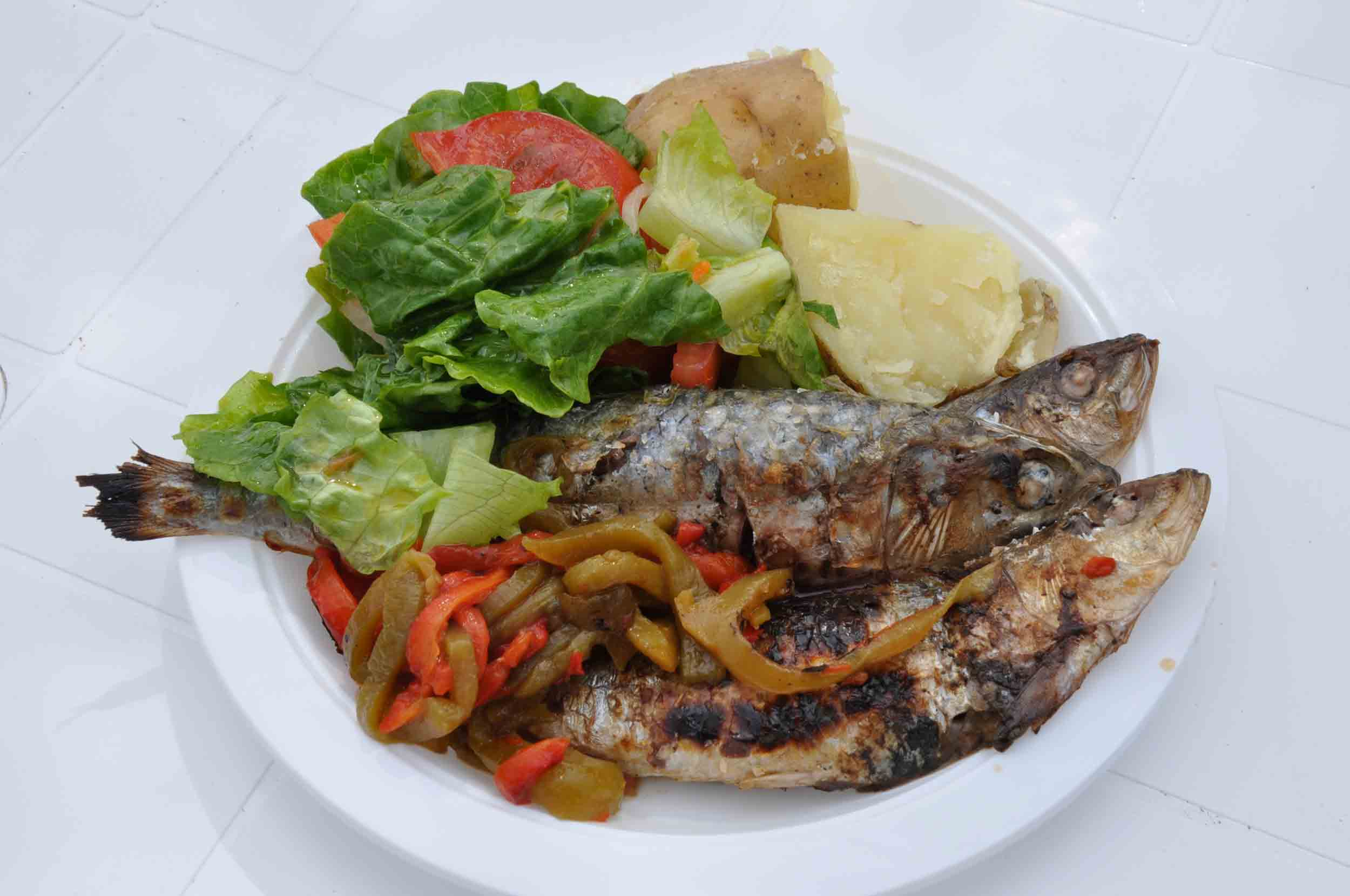 Lusofonia Festival Grilled Sardines