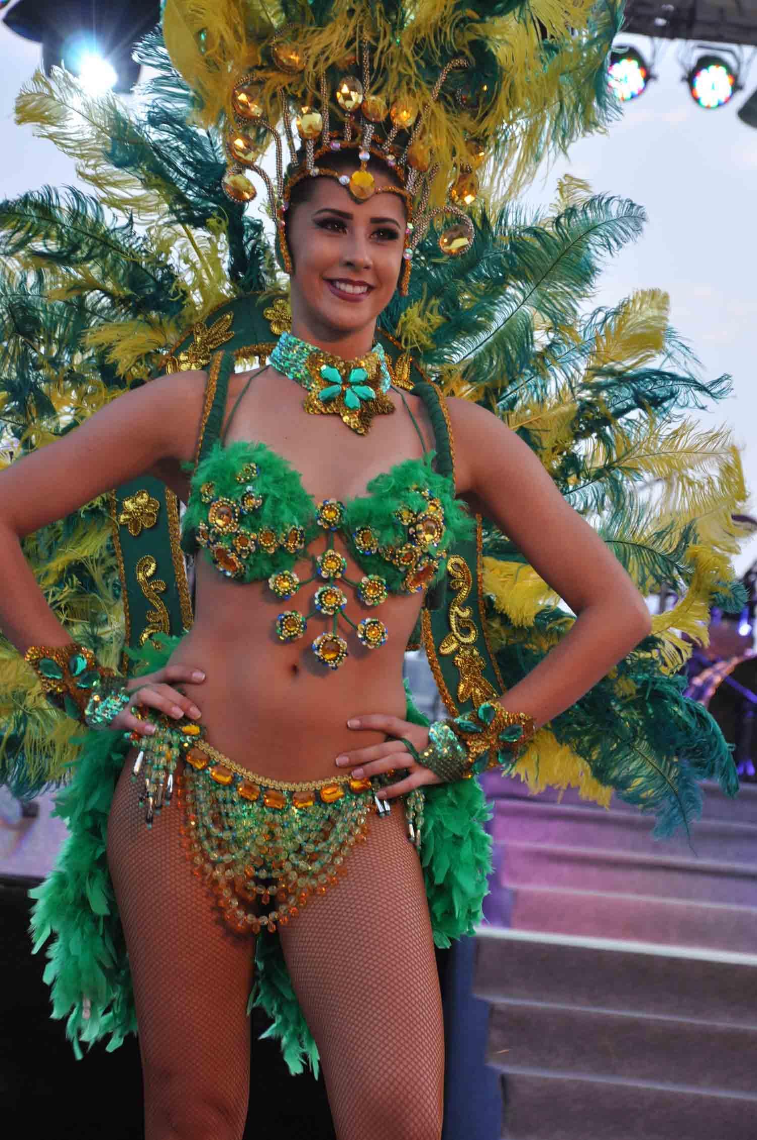 Lusofonia Festival Brazilian Samba Dancer