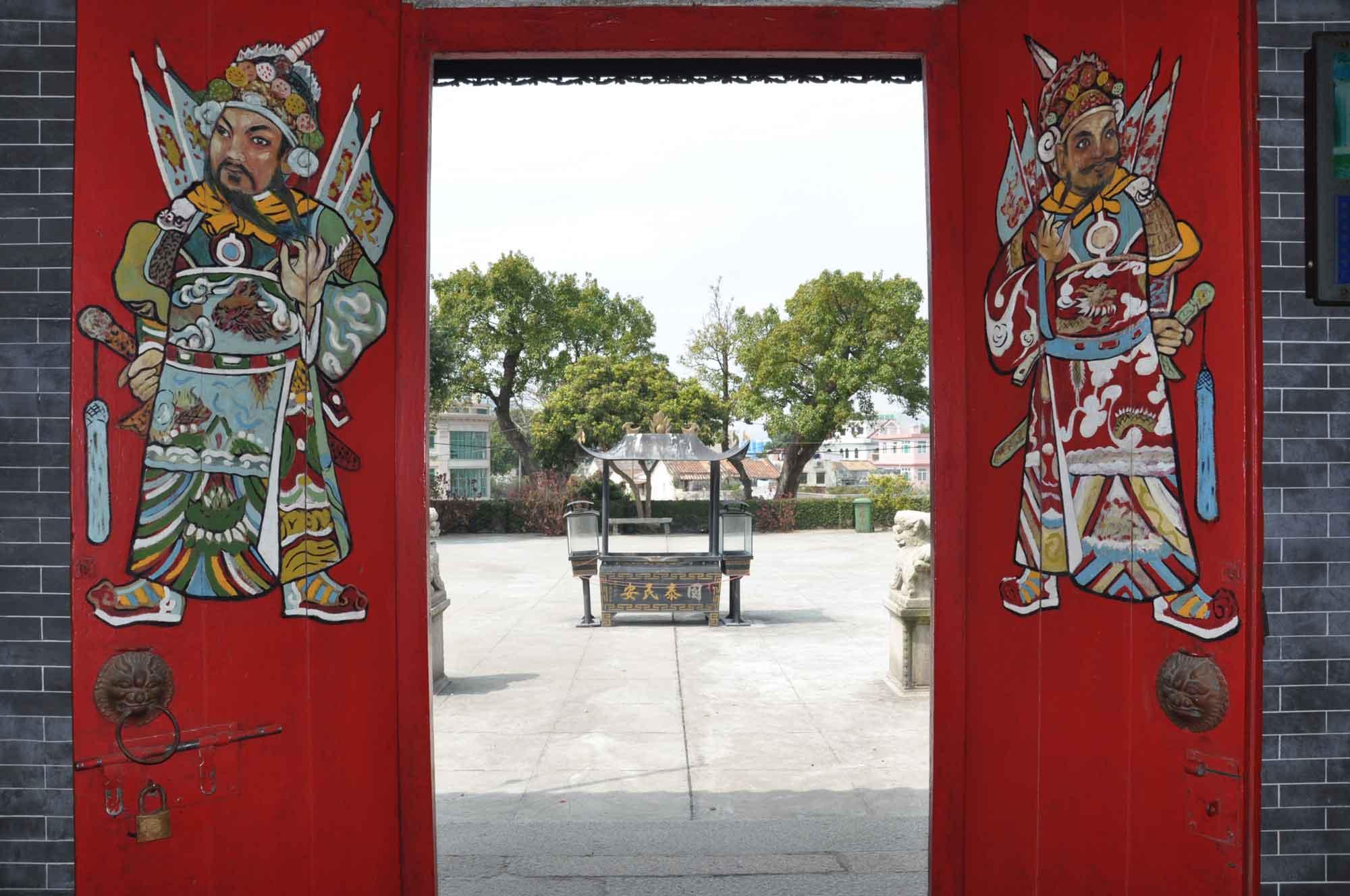 Tin Hau Temple doormen
