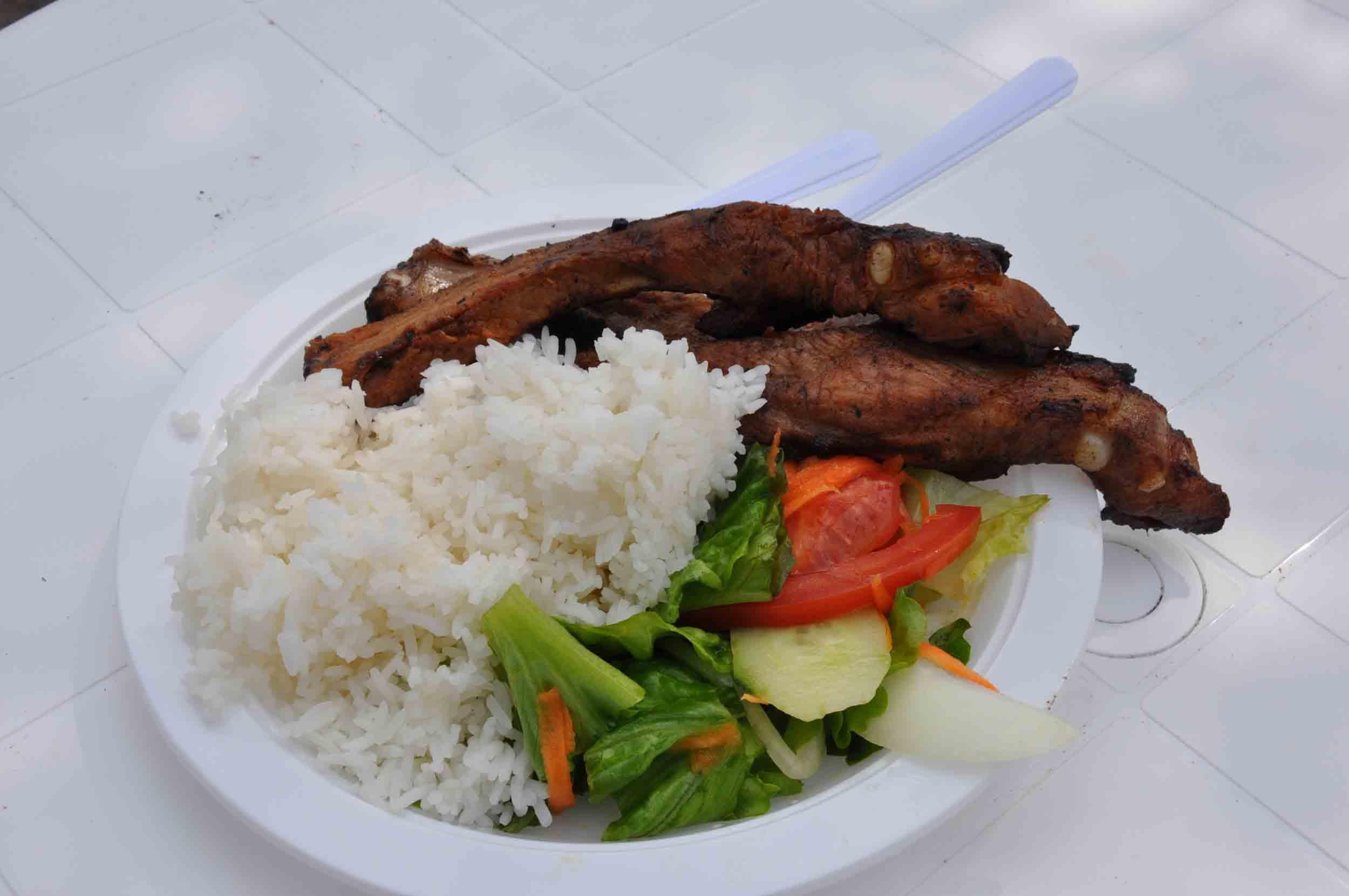 Lusofonia Festival Barbecue Pork Leg