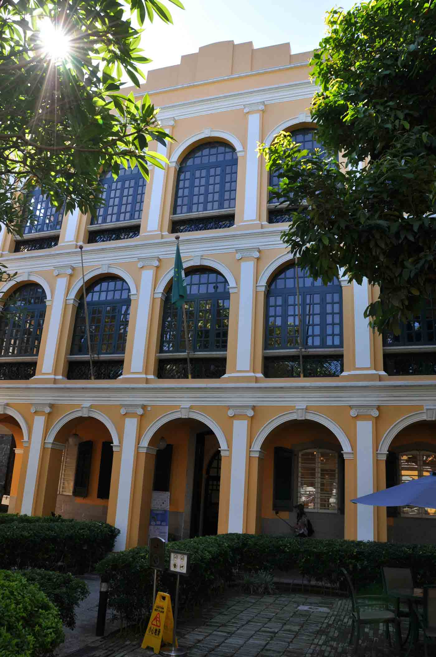 Macau World Heritage Site: Sir Robert Ho Tung Library