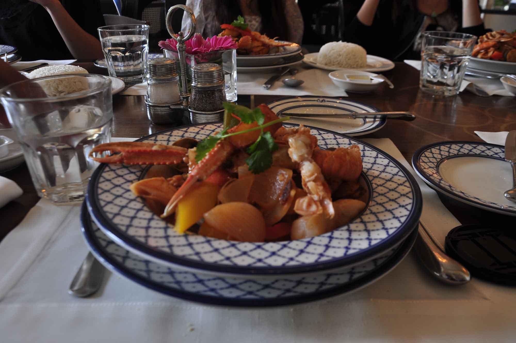 Cafe Bela Vista Macau seafood