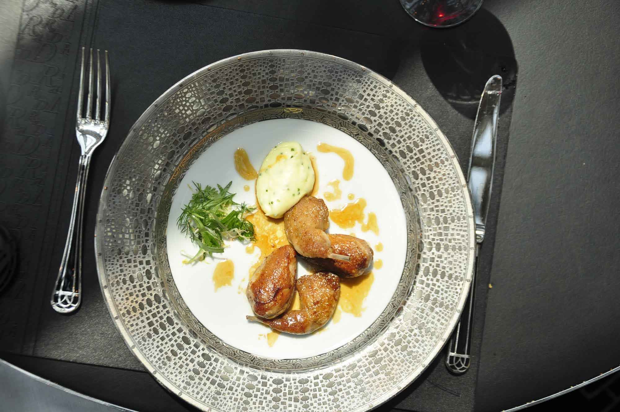 Robuchon Au Dome meat main course