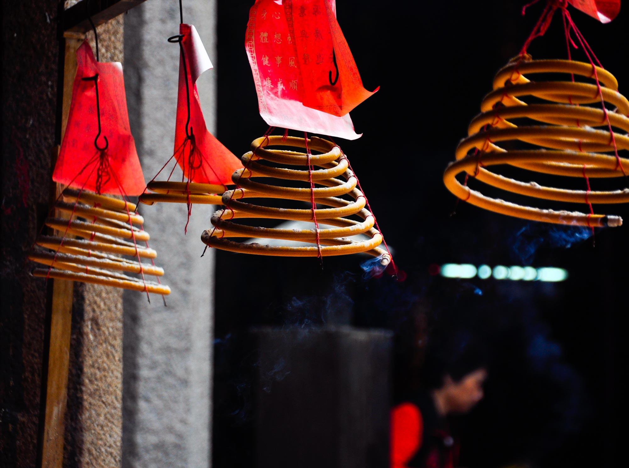Lin Fung Temple Macau incense