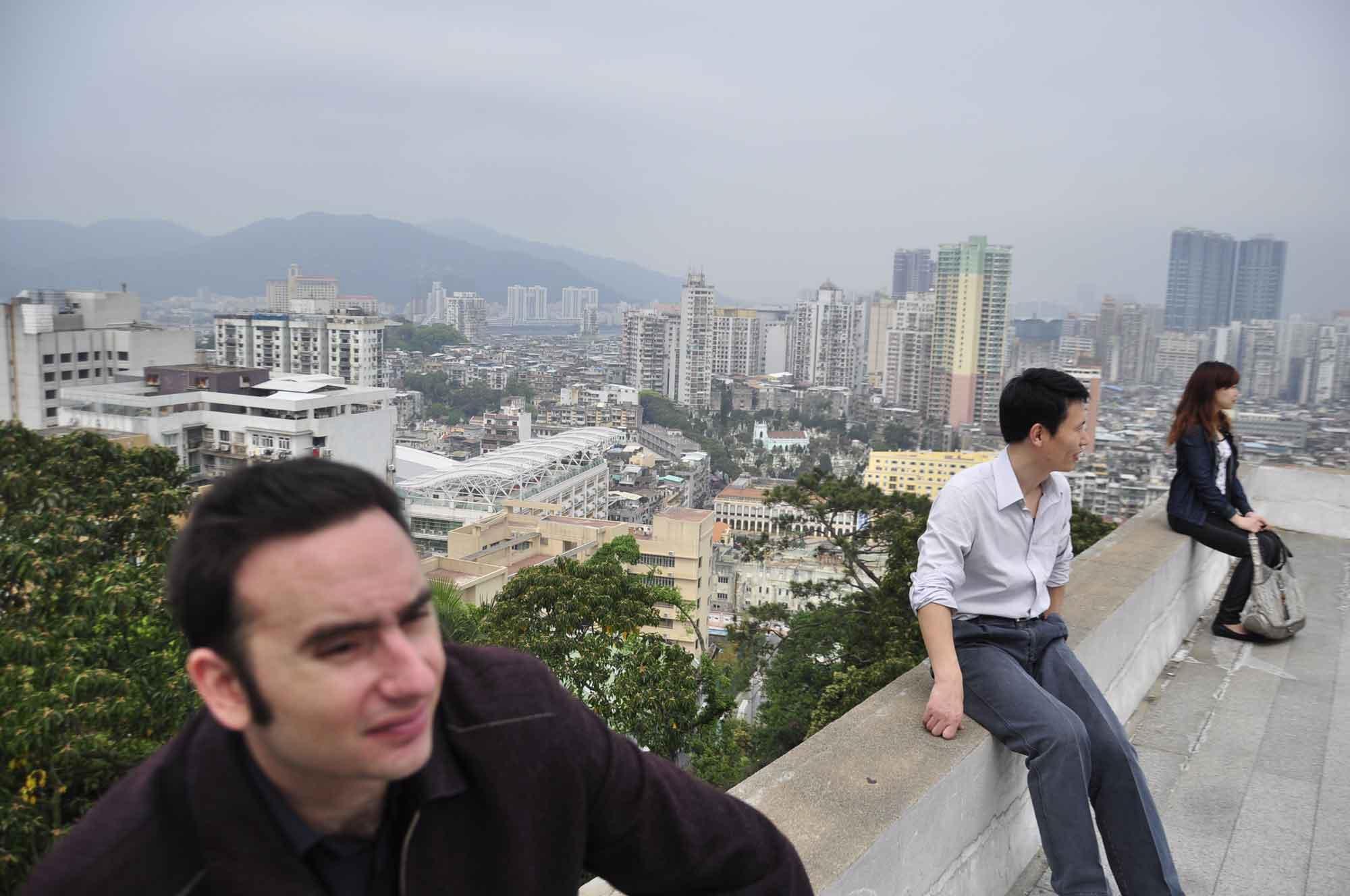 View from Guia Fortress Macau