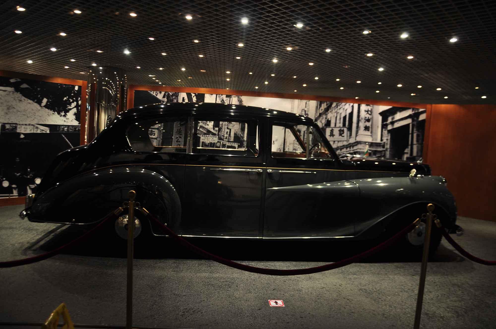 Grand Prix Museum hearse type vehicle