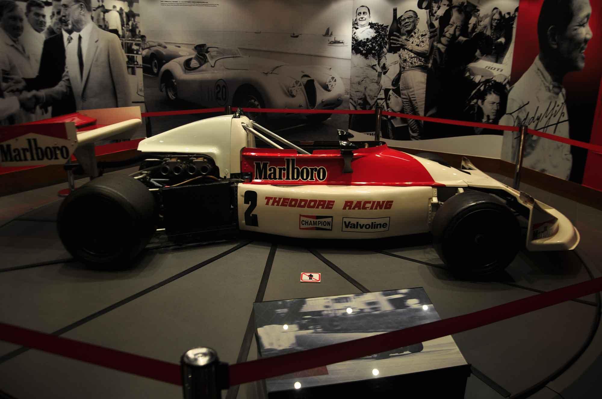 Grand Prix Museum race car
