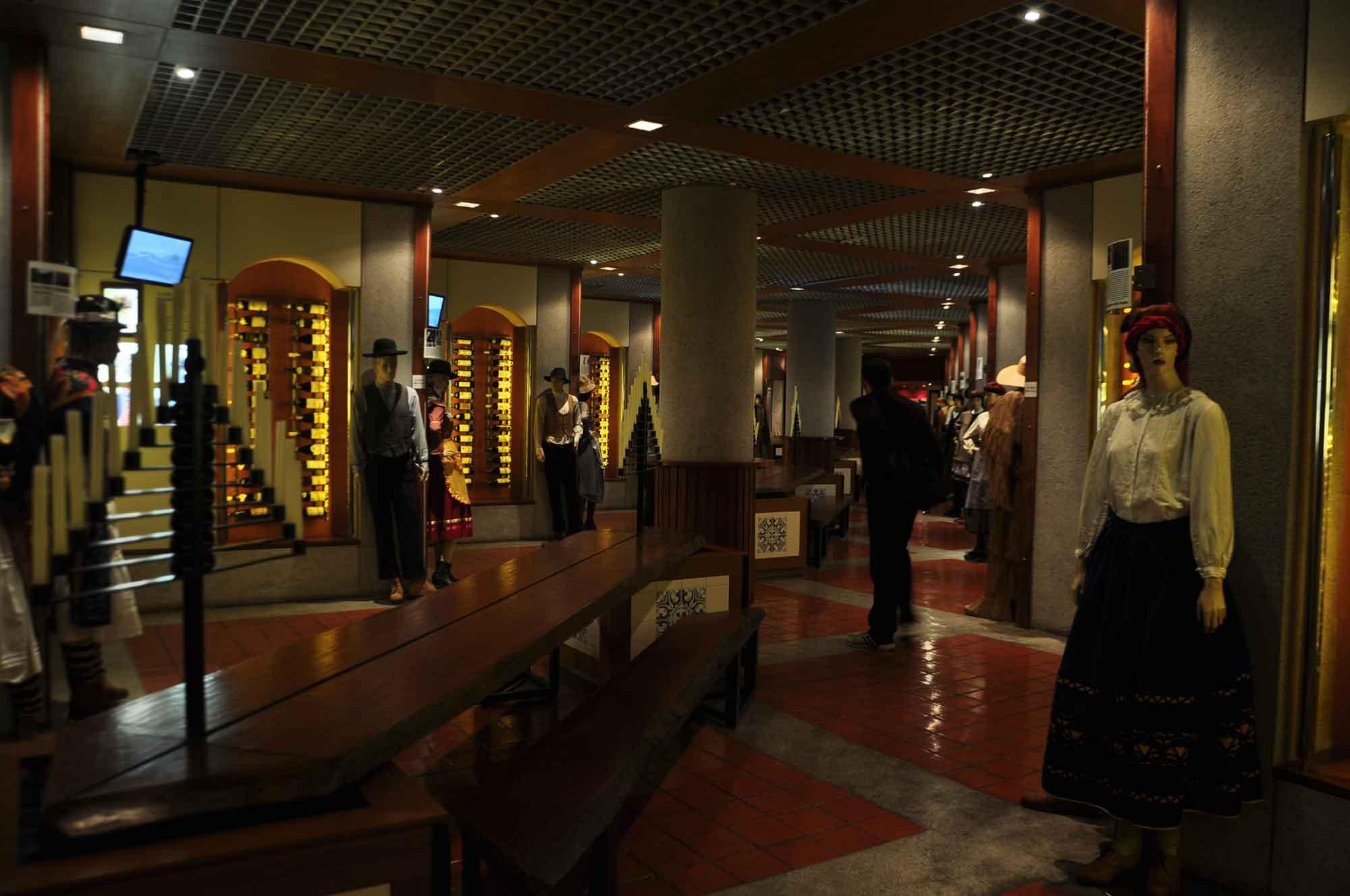 Wine Museum main hallway
