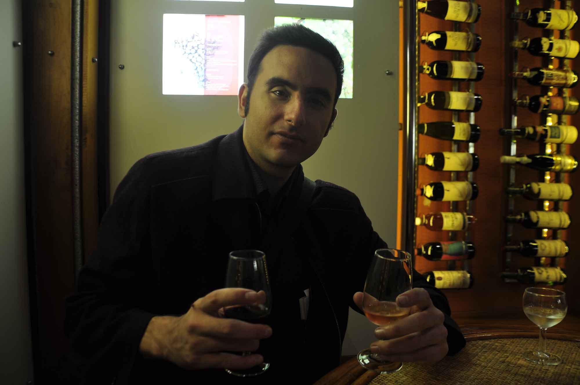 Macau Wine Museum wine tasting