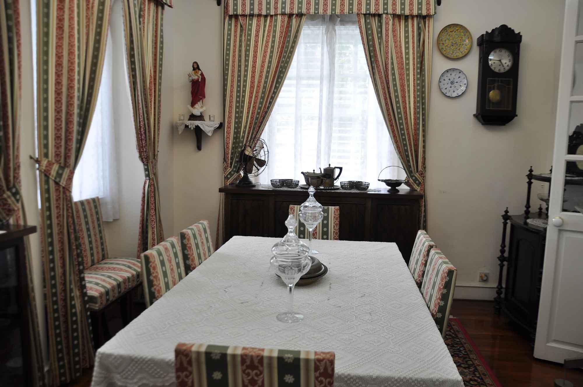 Taipa Houses Museum dining room