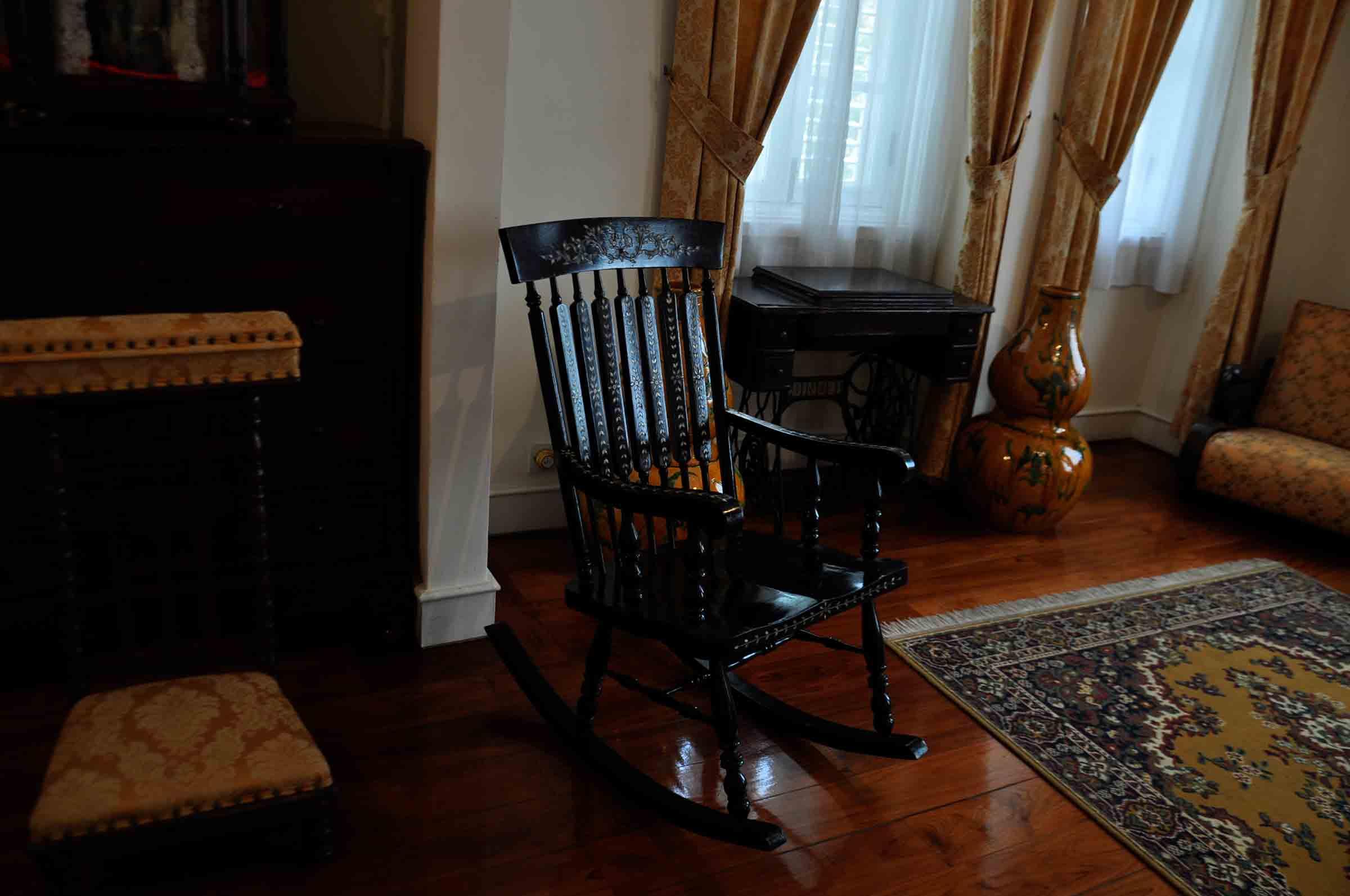 Taipa Houses Museum living room