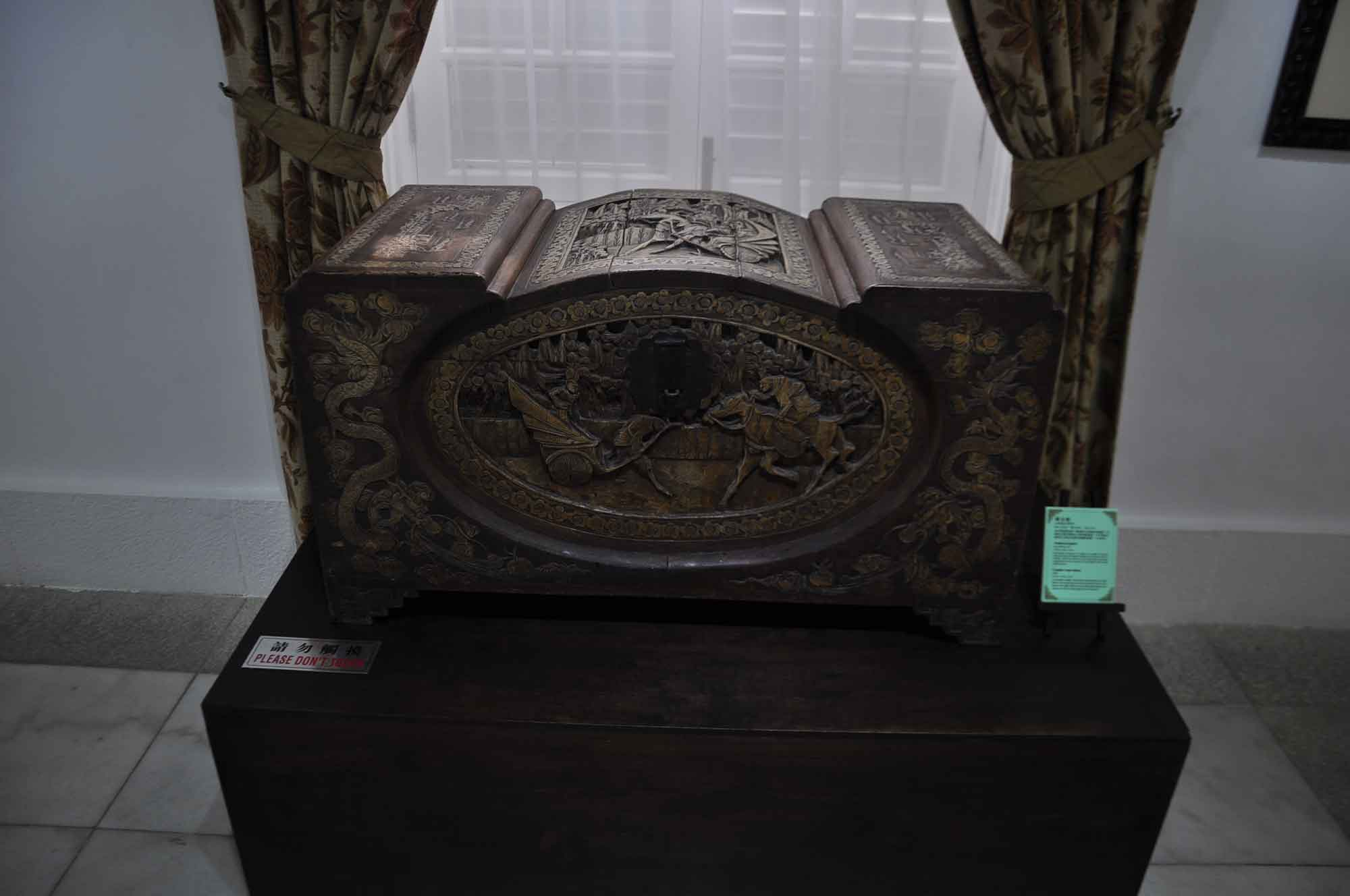 Taipa Houses Museum antique chest