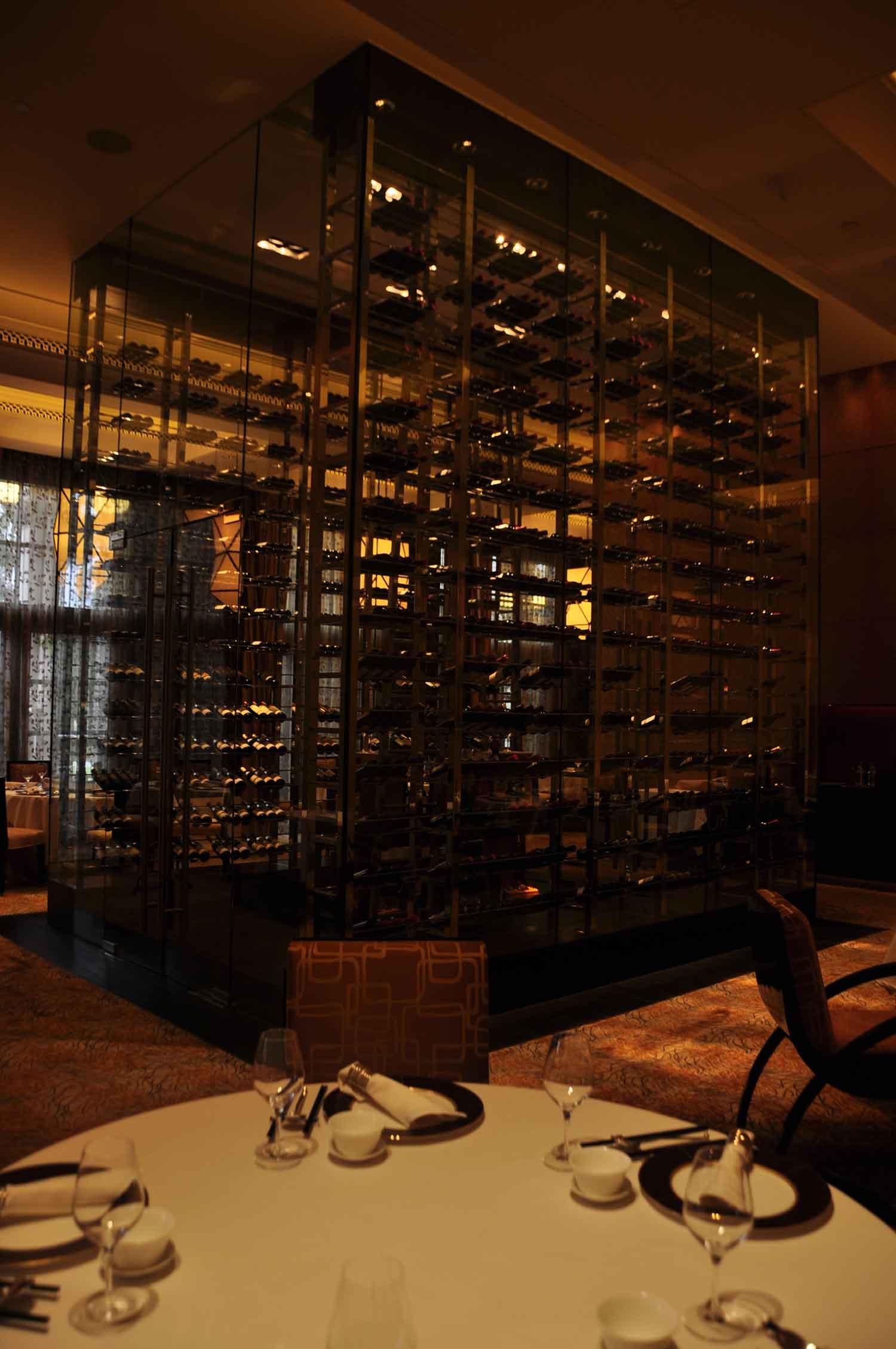 Zi Yat Heen Macau wine rack