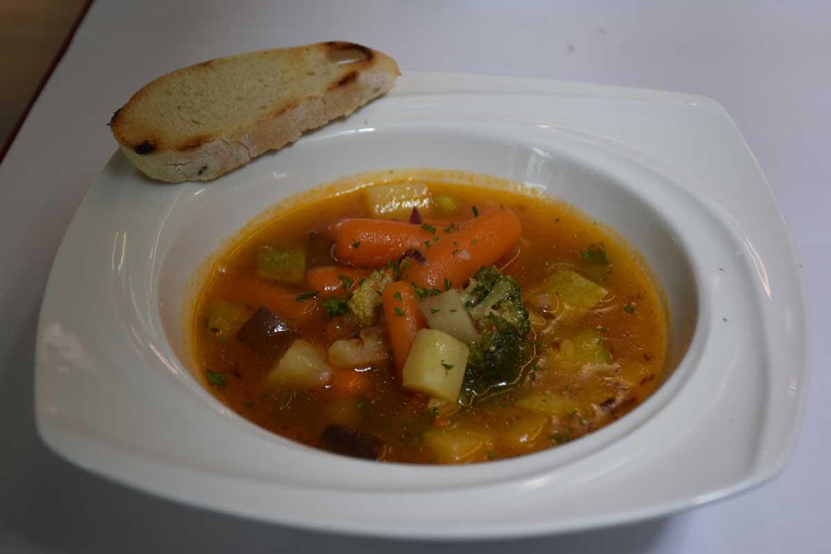 Bella Taipa Macau vegetable minestrone soup