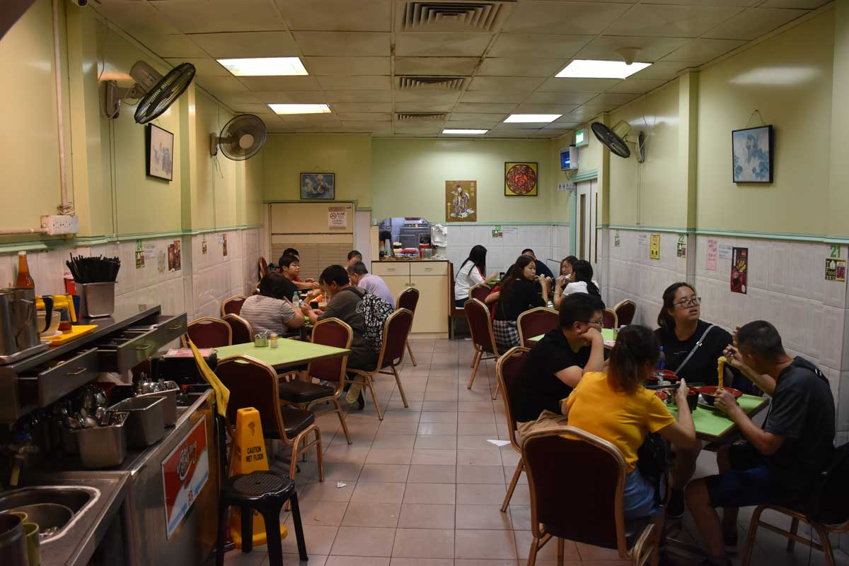 Cafe Vitoria Macau interior