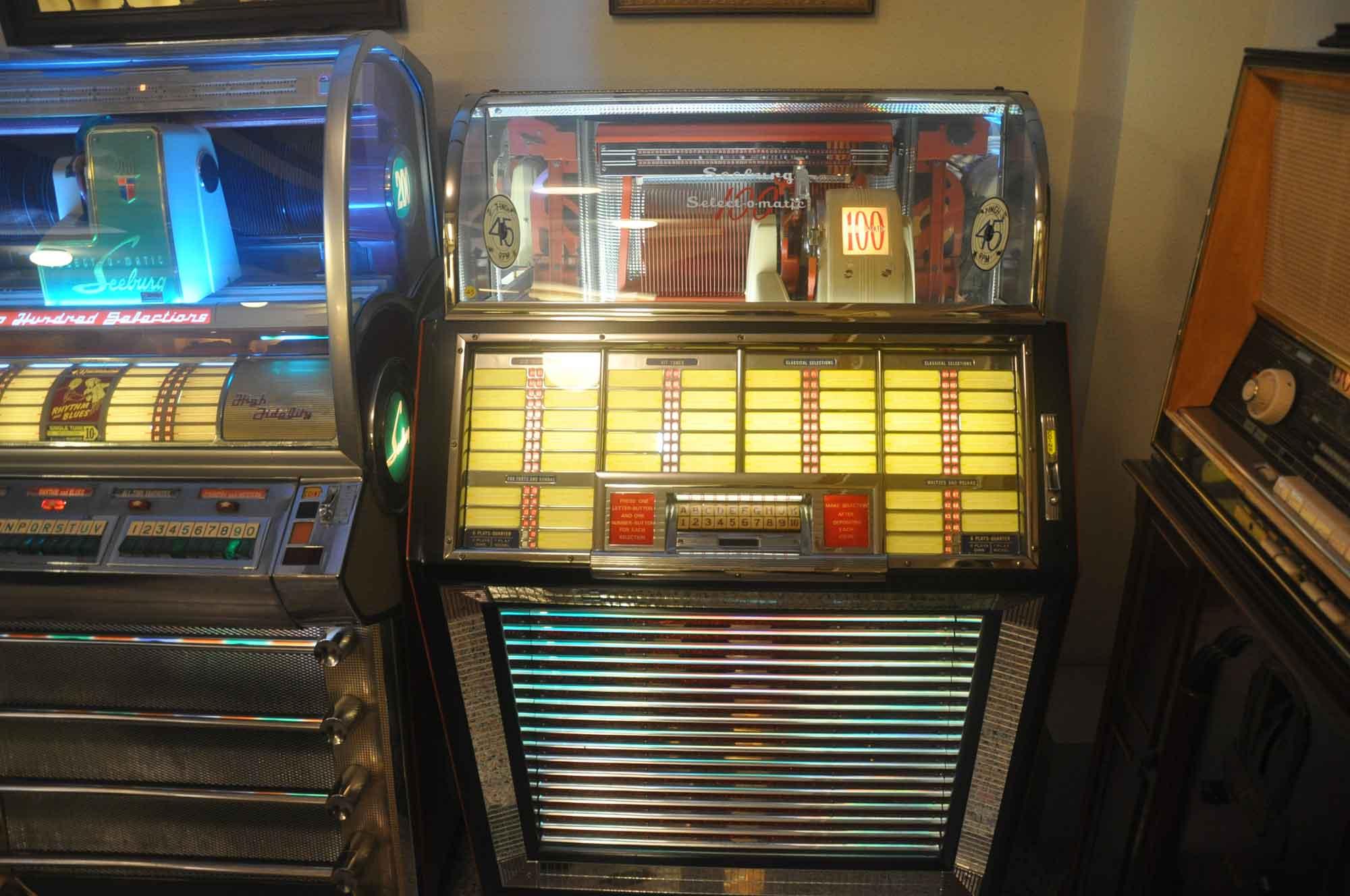 Vintage Sounds Museum jukebox