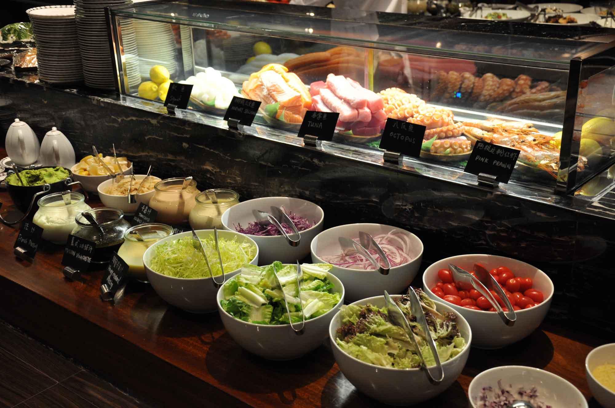 Urban Kitchen Macau salad station