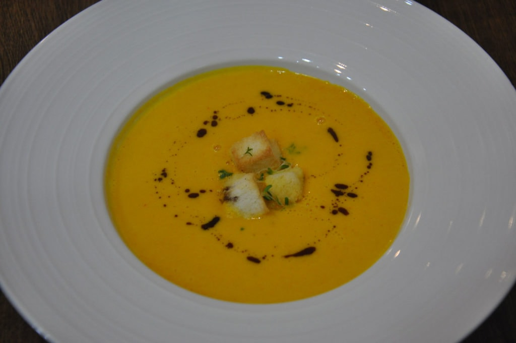Cafe Bon Bon Pumpkin Soup