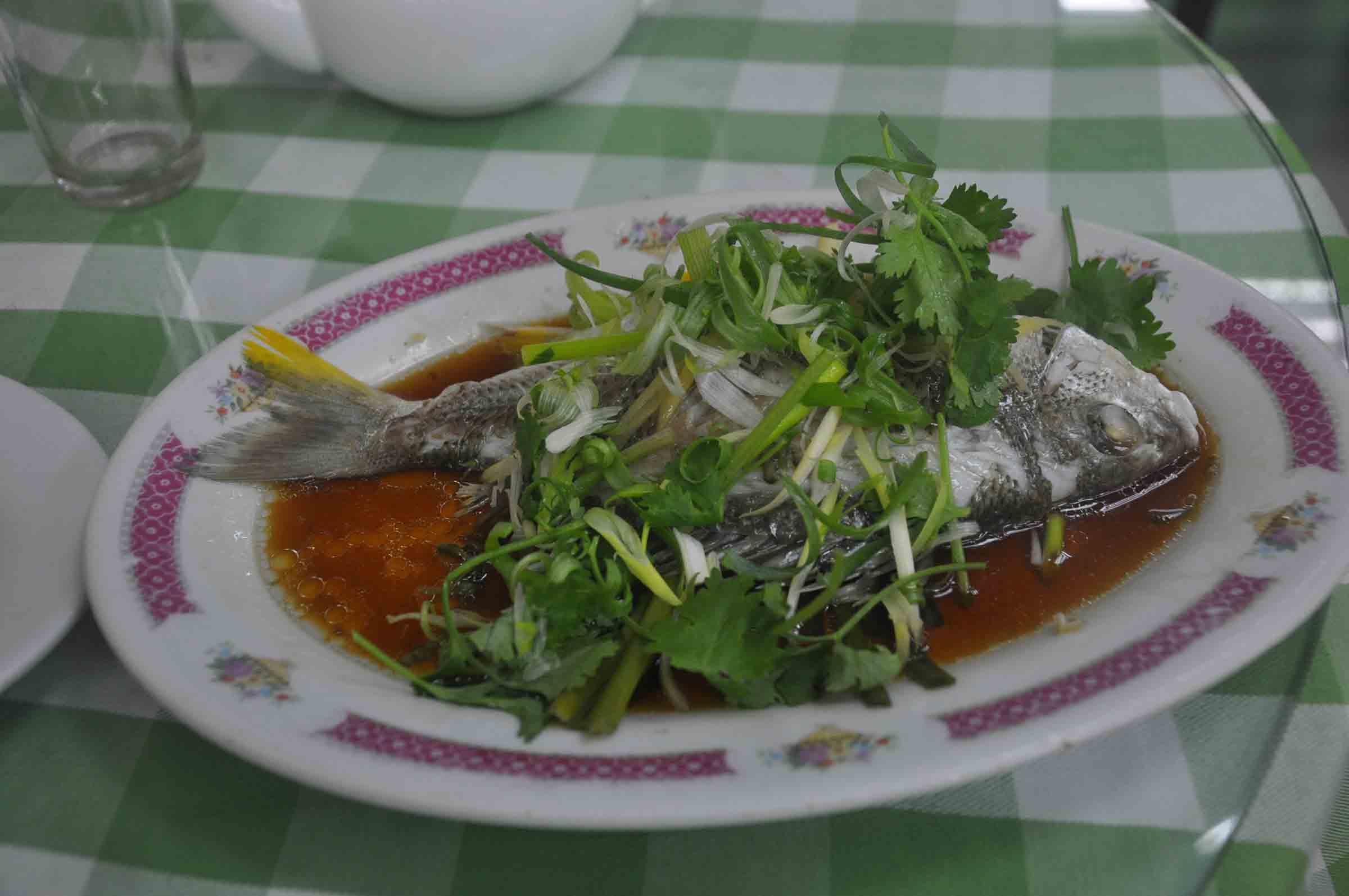 Mou Kei seafood restaurant fish