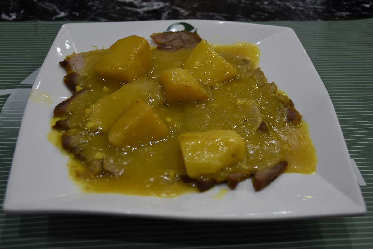 Famous Macau Dish: Porco Bafassa at Apo Mac