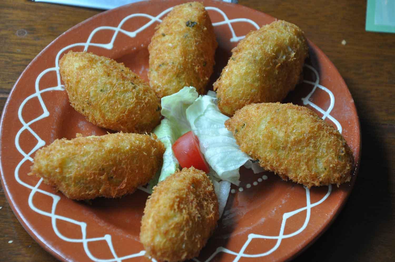 Flamingo Macau Codfish Balls with Potatoes
