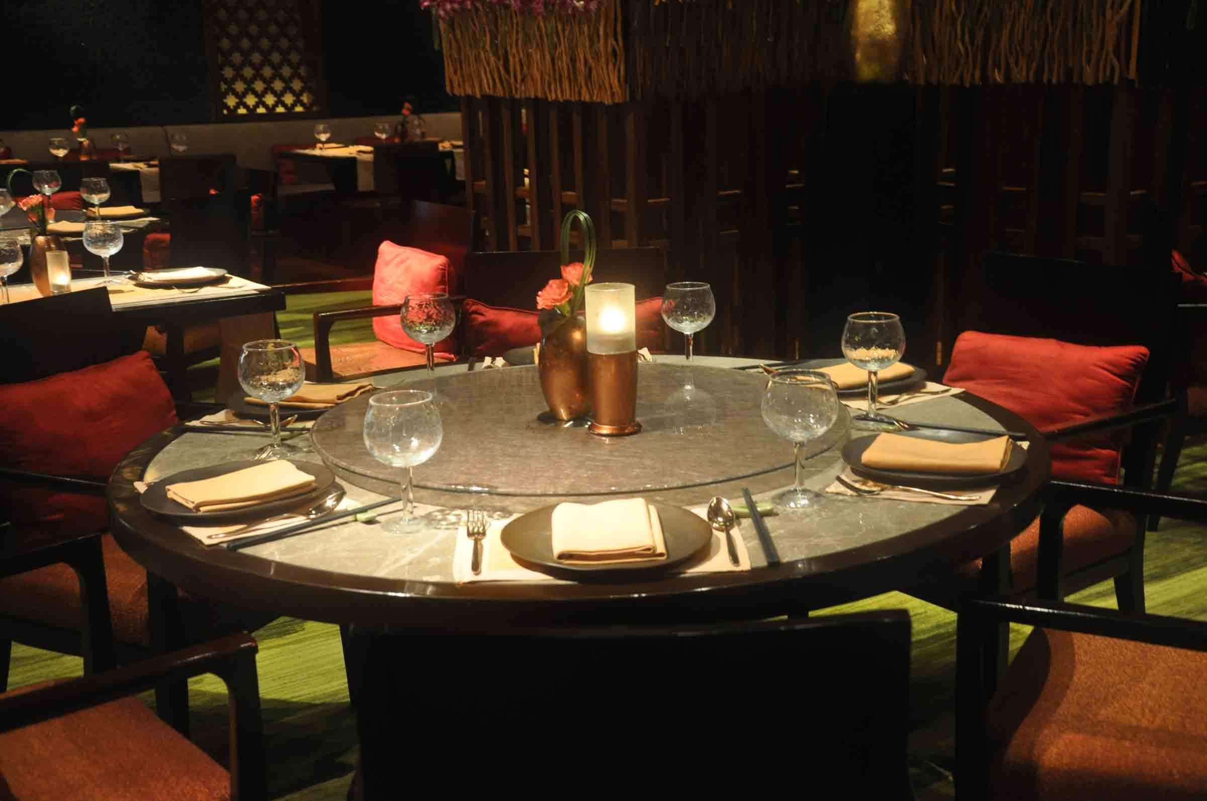 Saffron Macau table