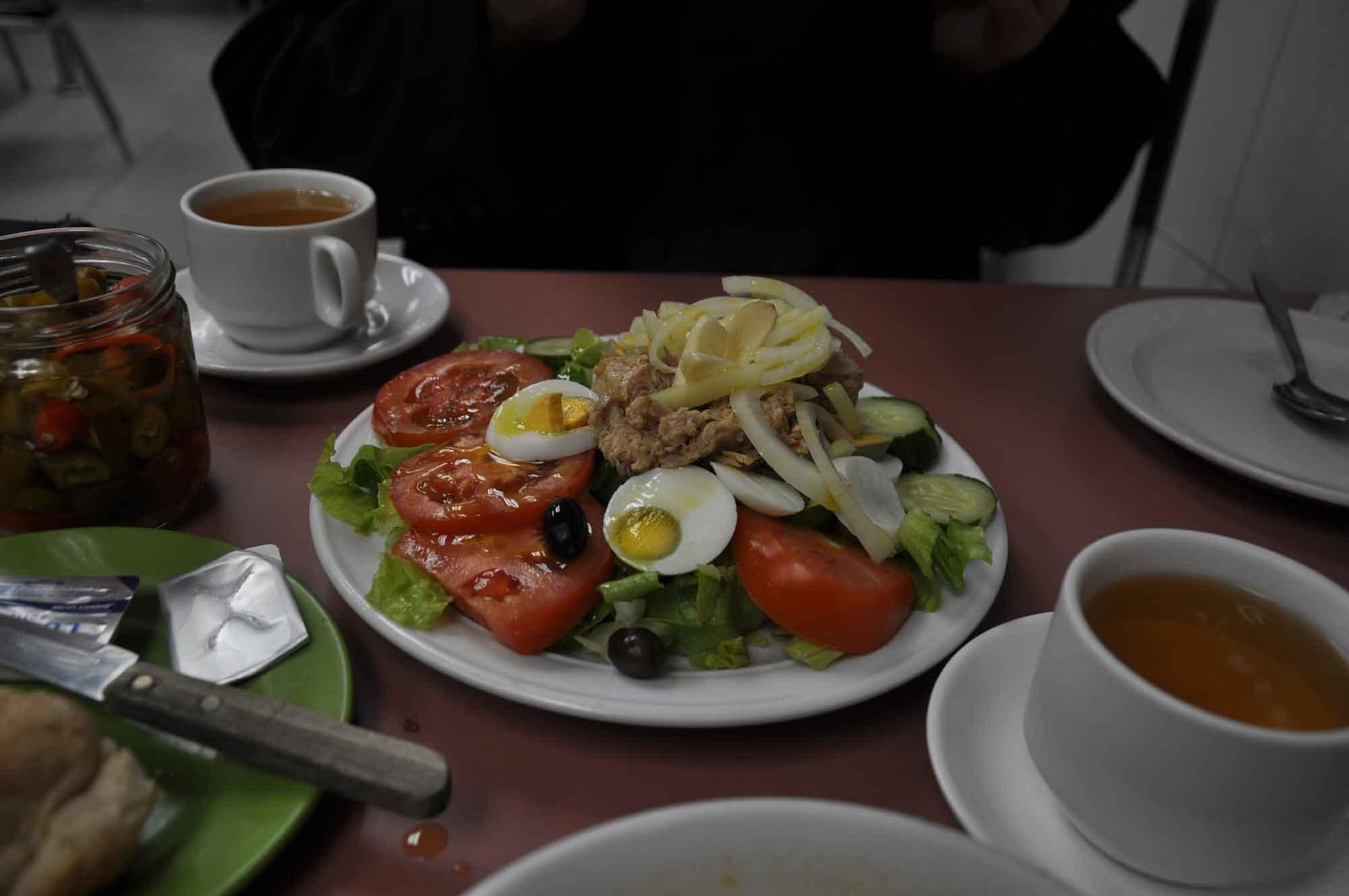 A Vencedora salad