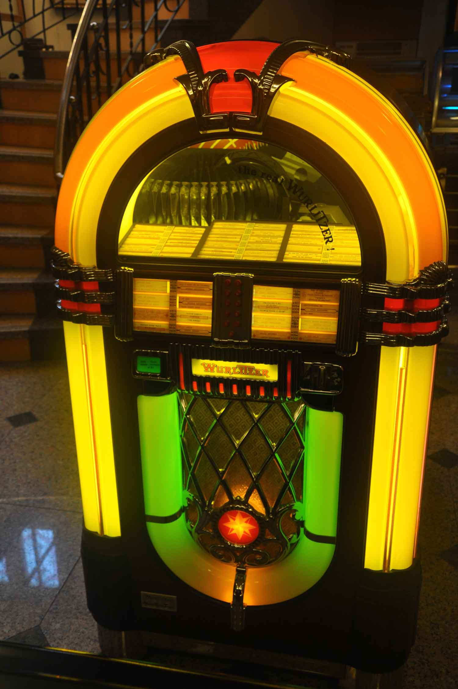Macau Museums: The Vintage Sounds Museum jukebox