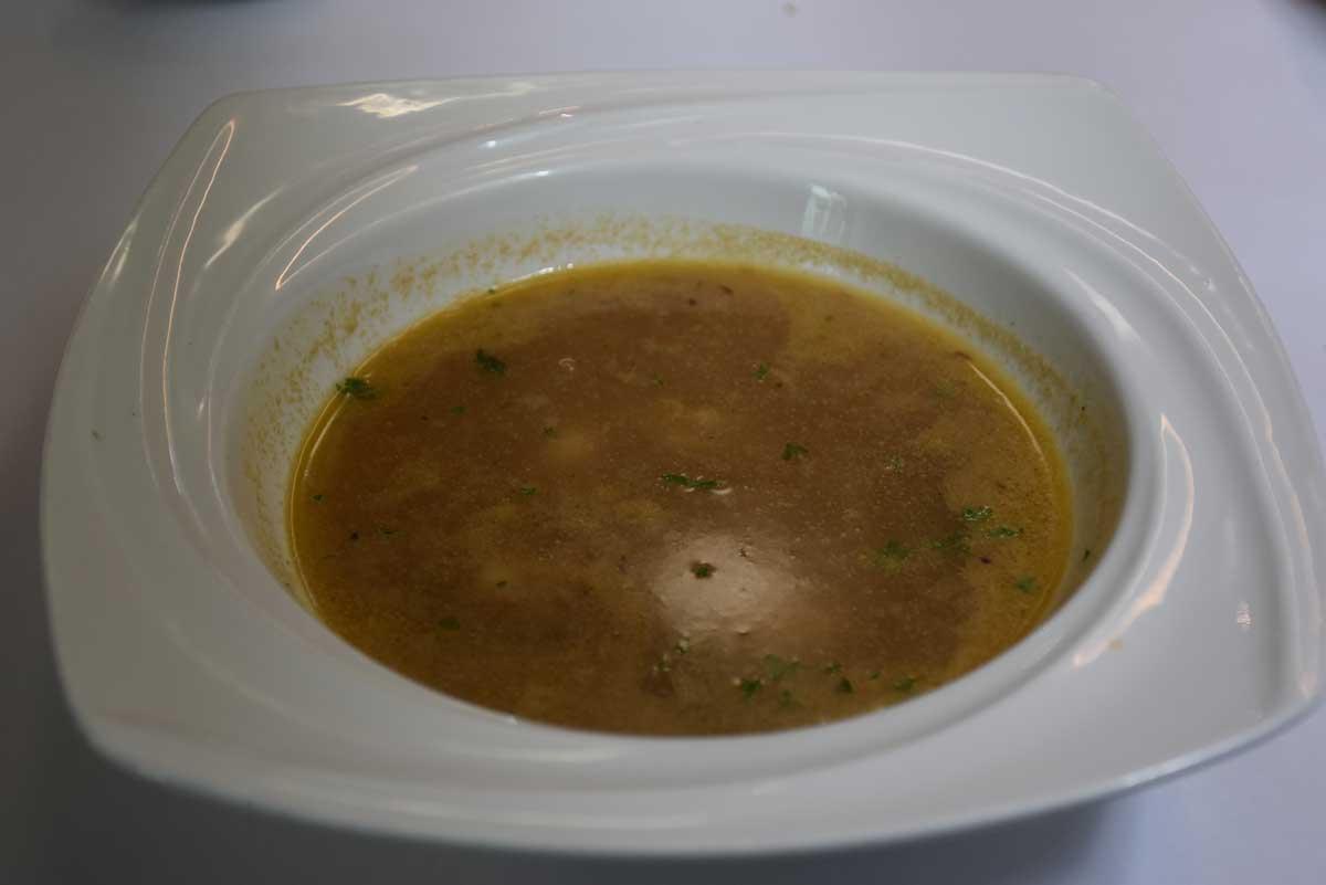 Bella Taipa Macau scampi soup
