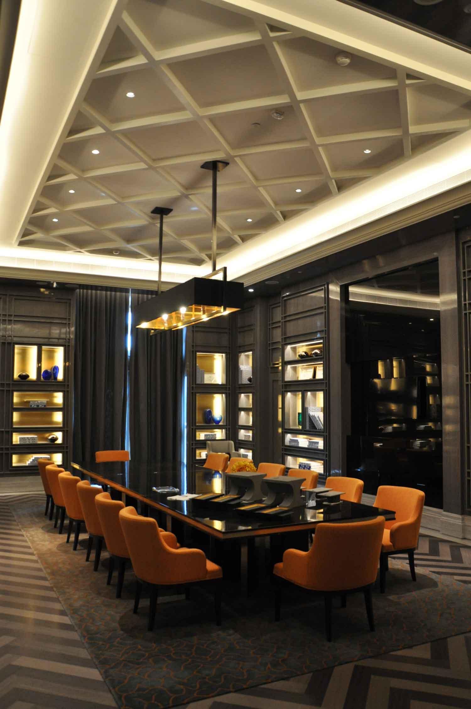 Ritz-Carlton Macau reading room