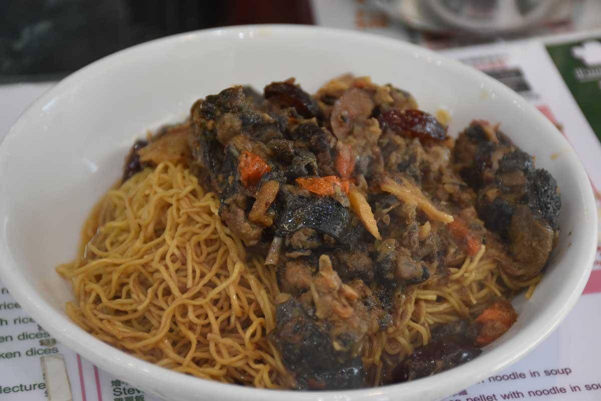 Niu Ji Macau Chicken Preserved in Fa Deal Wine with Noodle in Sauce