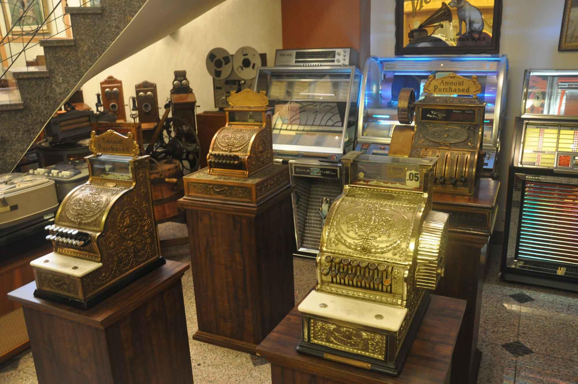 Vintage Sounds Museum cash registers