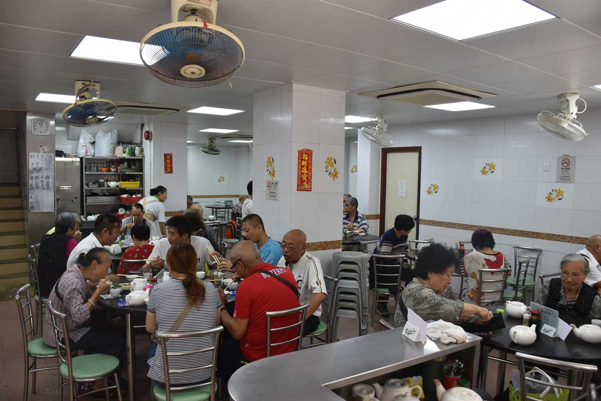 Ka Wai Fast Food interior Macau