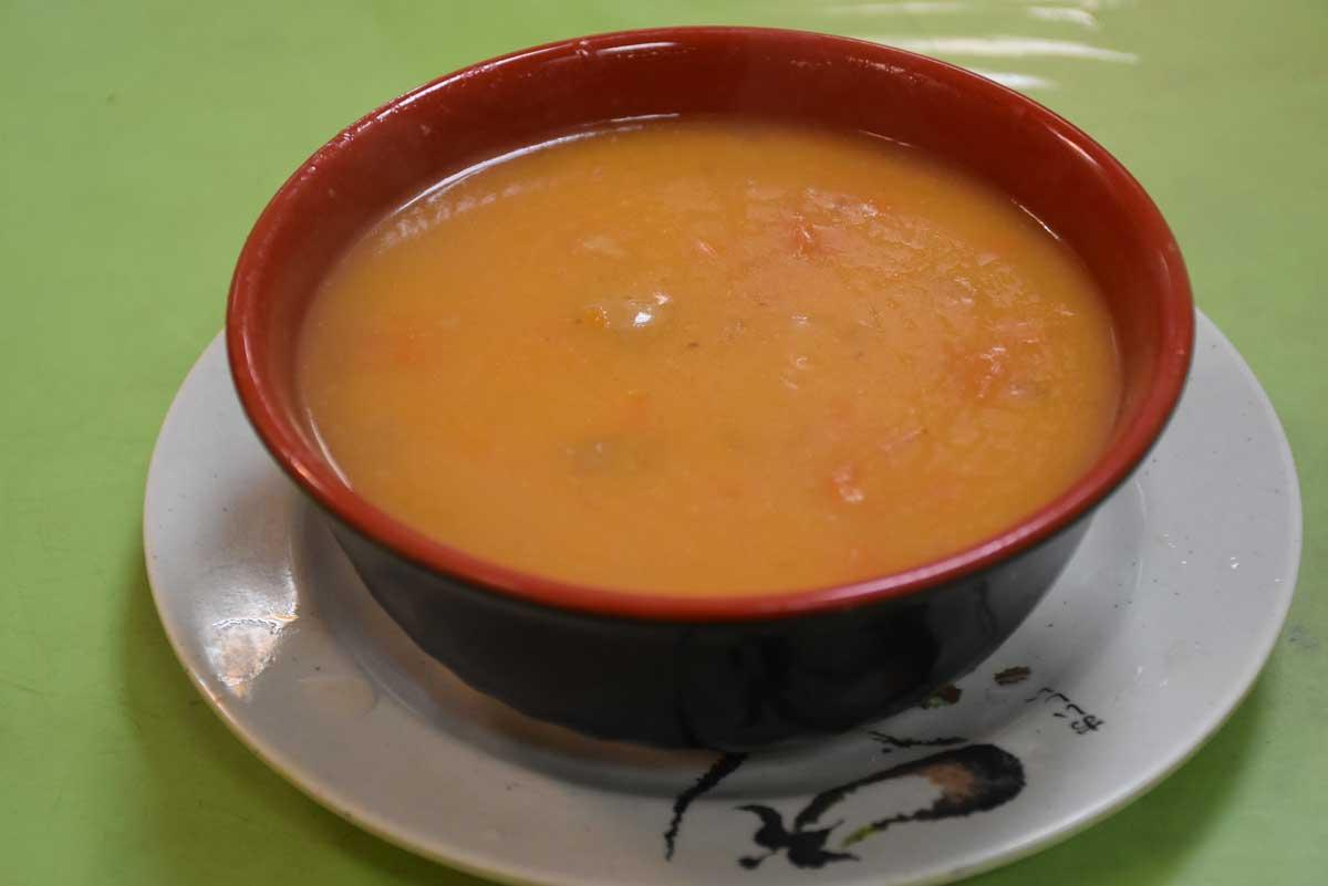 Cafe Vitoria ox tail soup