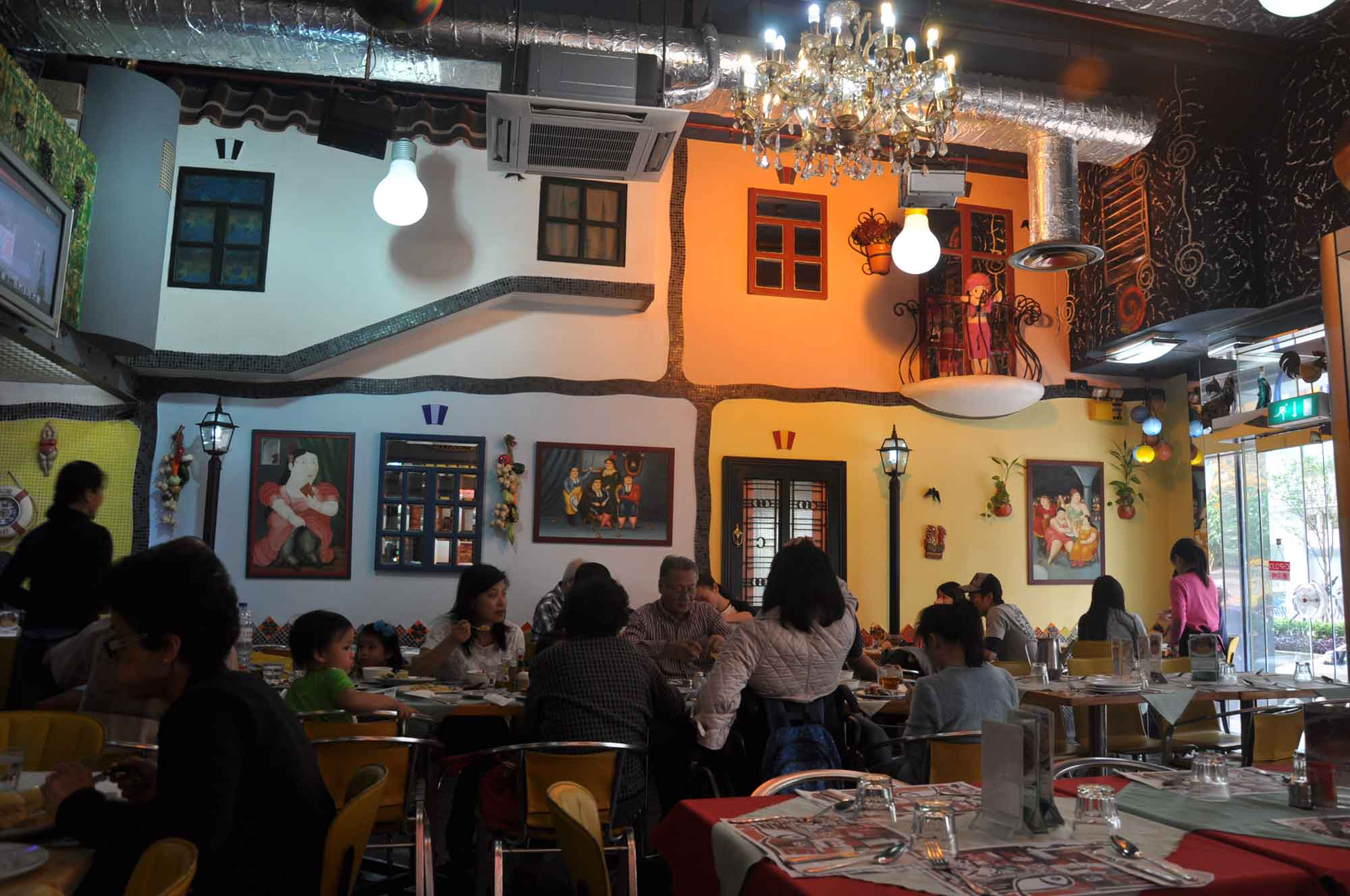 Dom Galo Macau interior