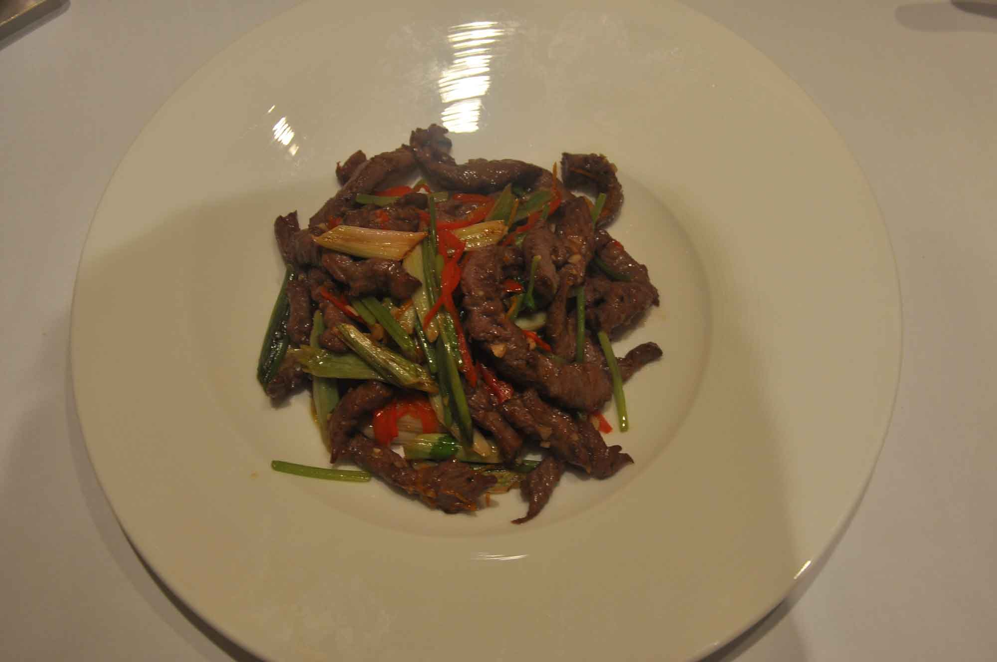 Grand Imperial Court MGM Macau lamb dish