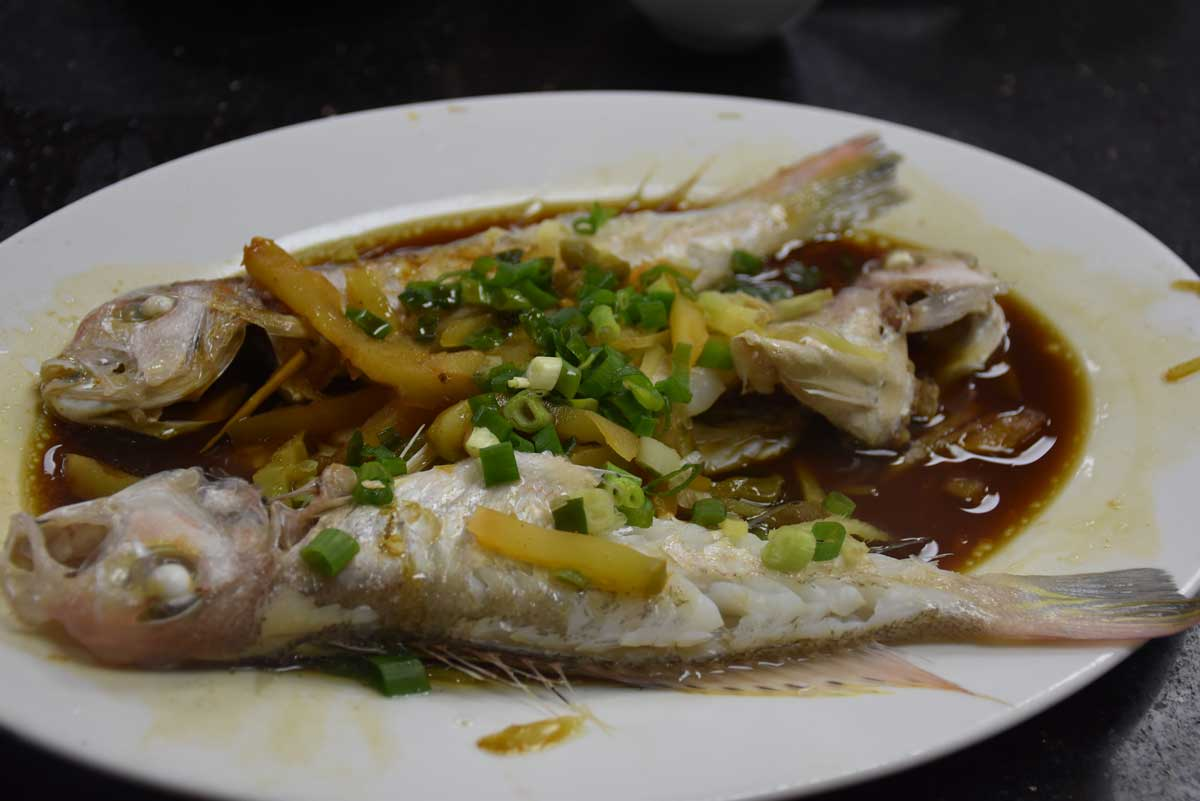 Ka Wai Fast Food harbour fish Macau