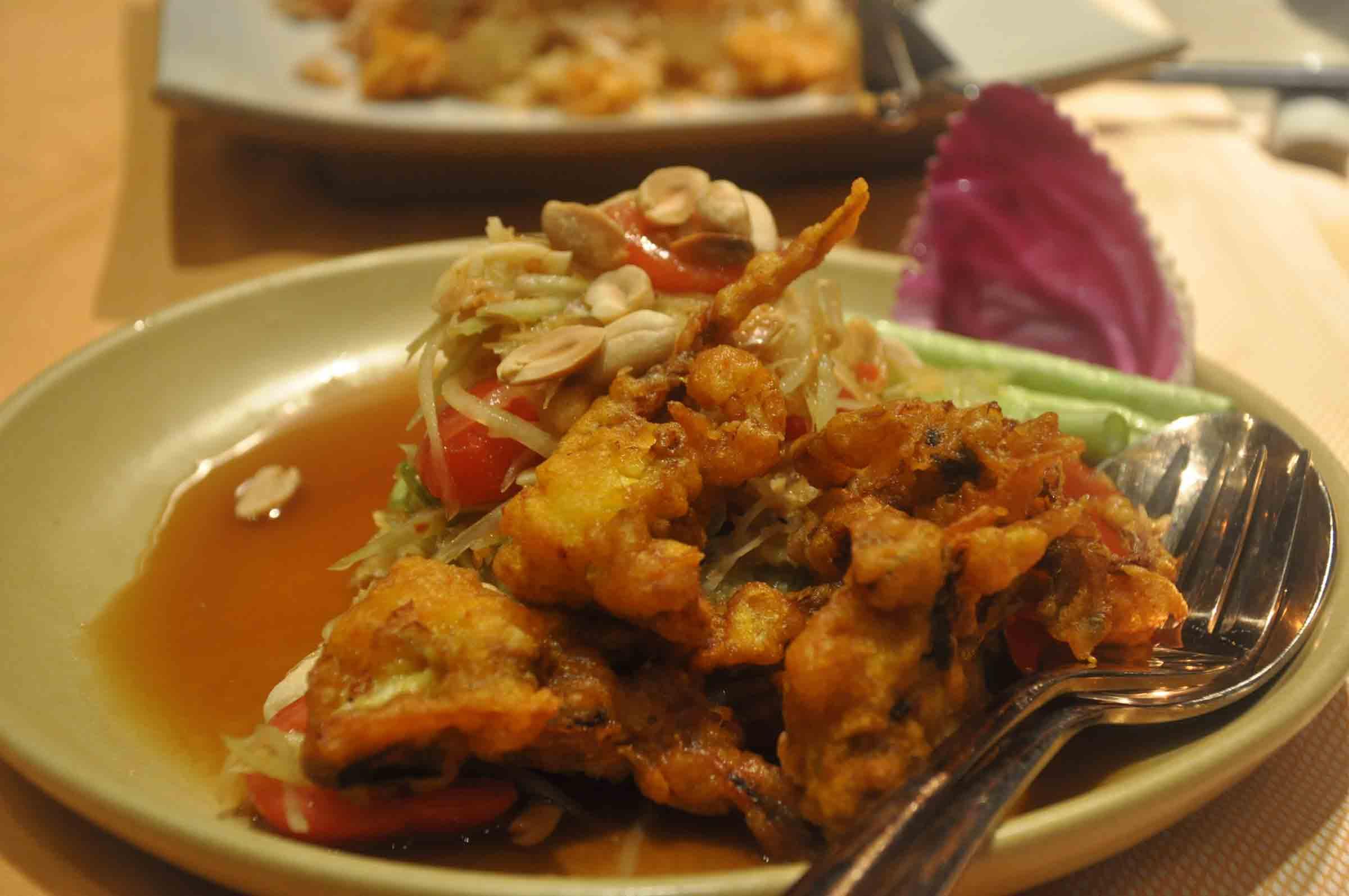 Saffron Macau appetizer