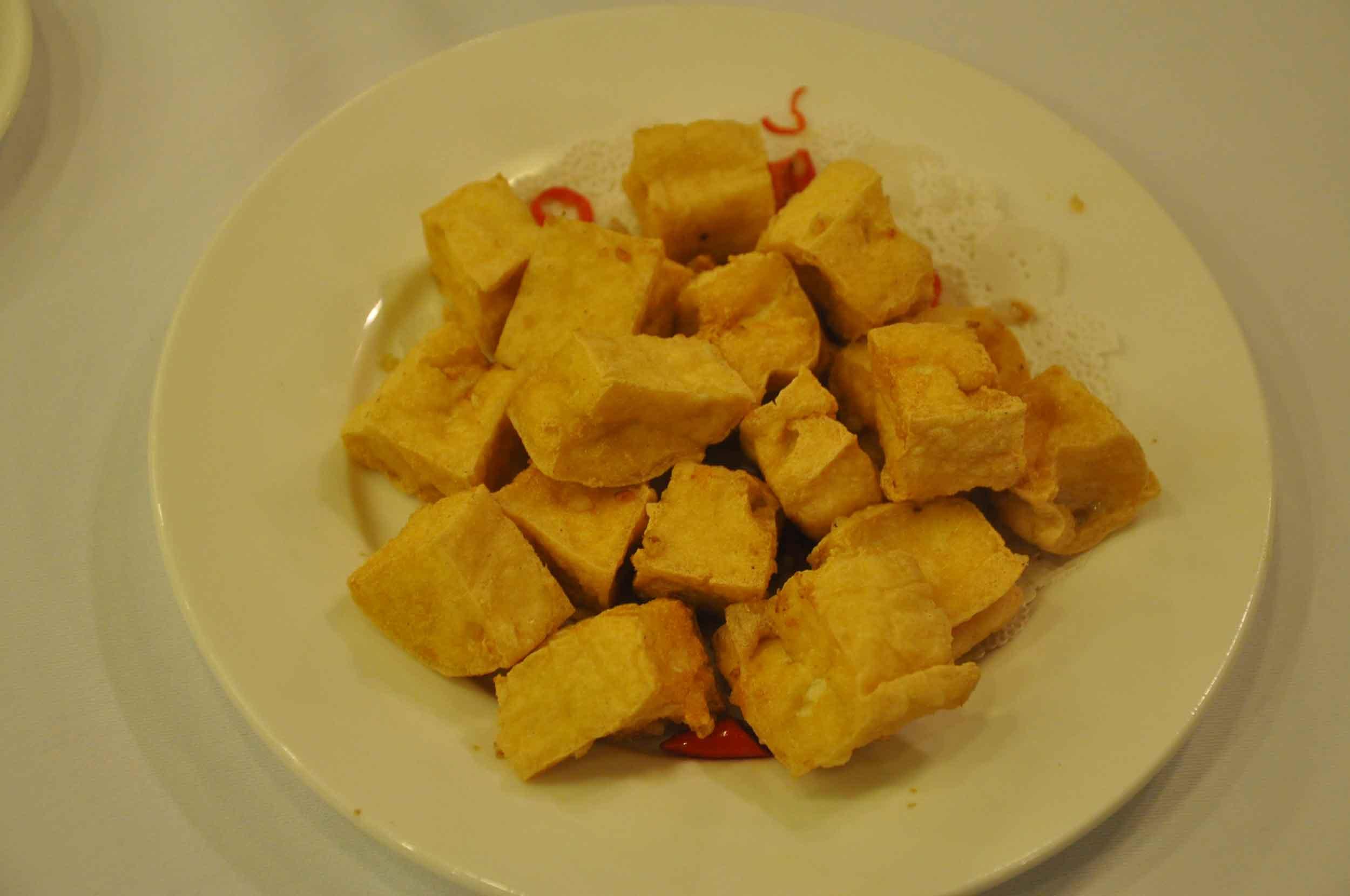 Kapok Cantonese Macau Fried Tofu with Spicy Salt