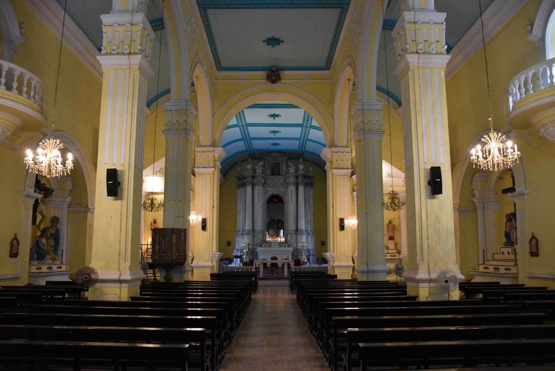 St. Augustine Church Macau interior
