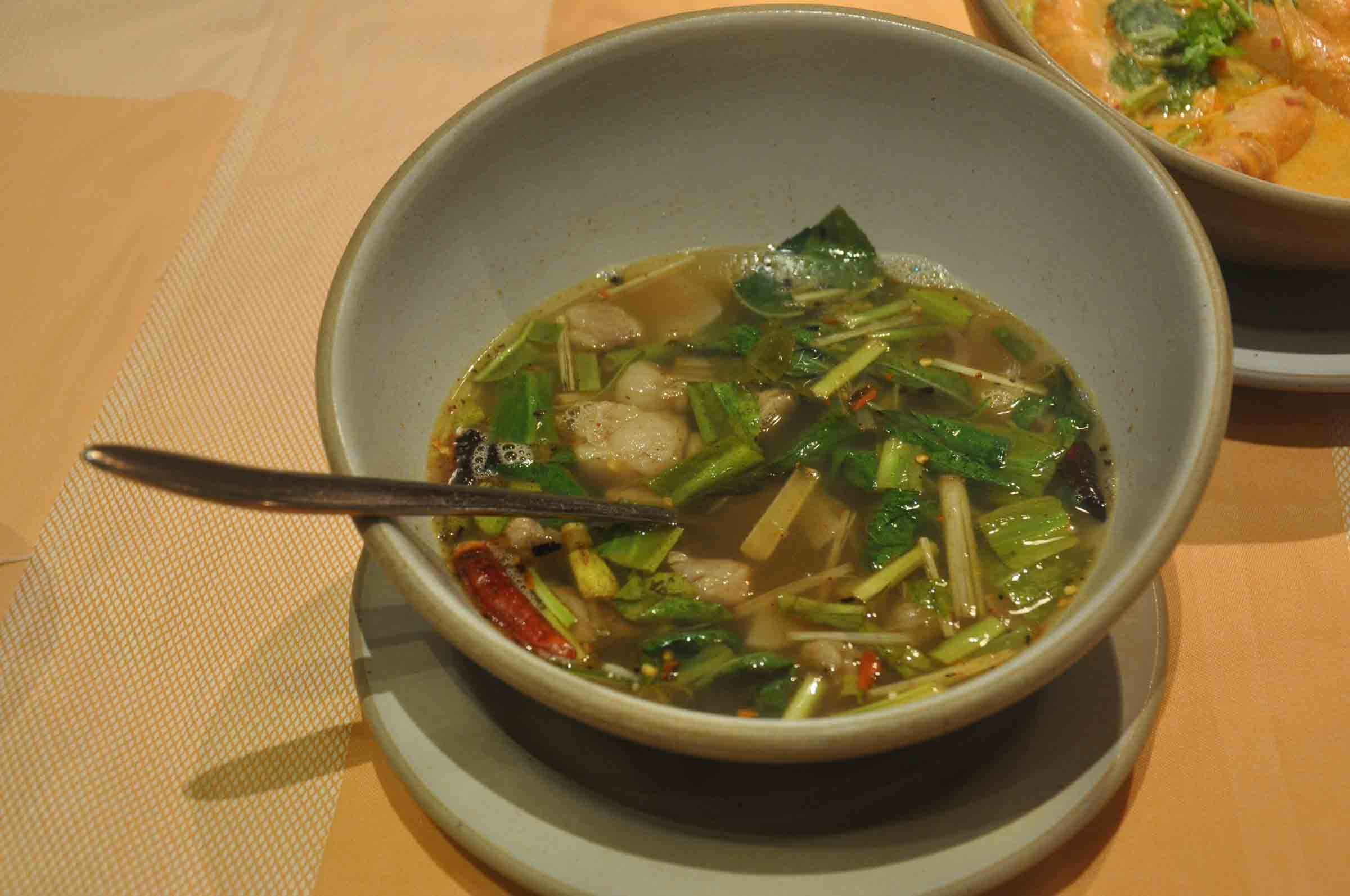 Saffron Macau Tom Yang soup