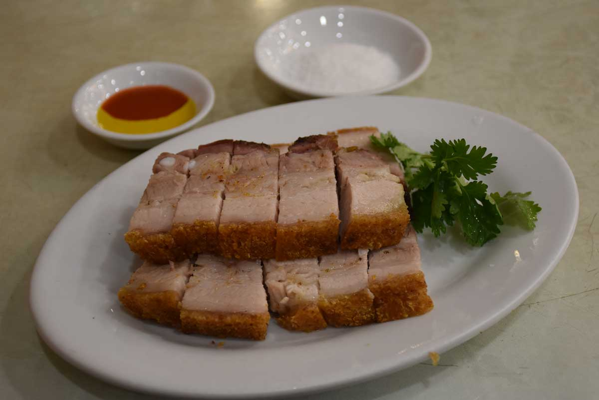 Best Macau Dishes: Roasted Pork at Lei Hong Kei