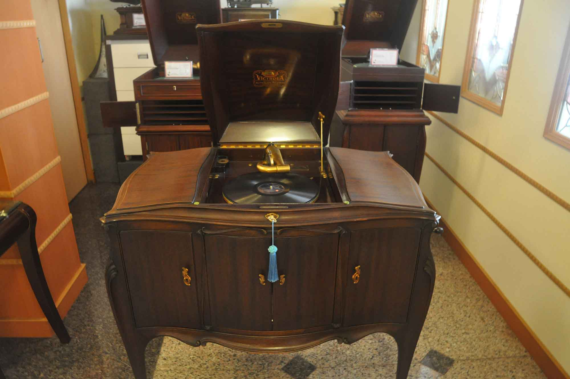 Vintage Sounds Museum record player