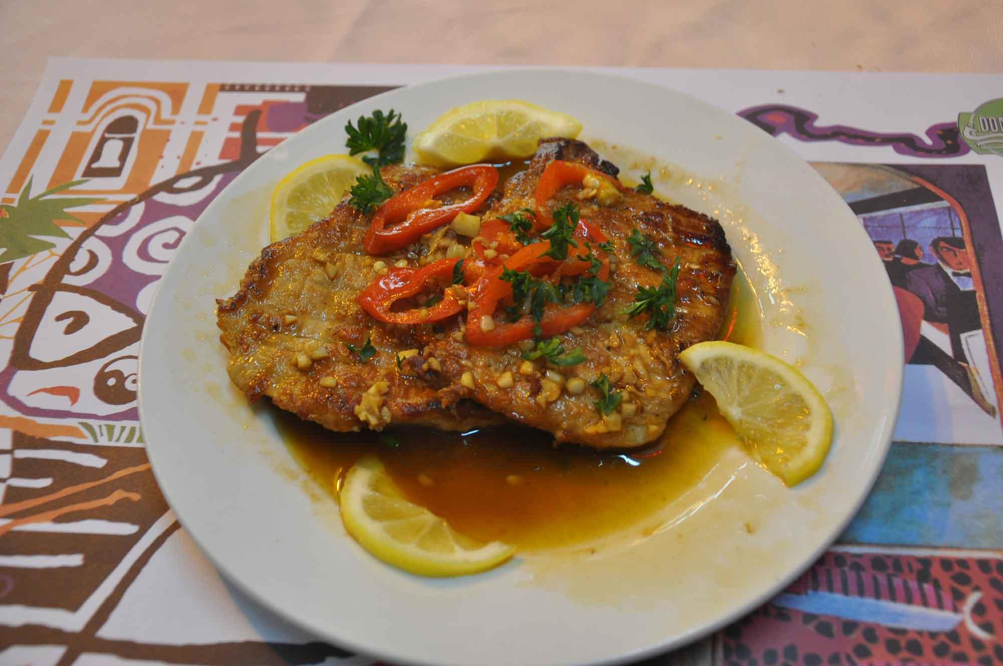 Dom Galo Macau pork chops