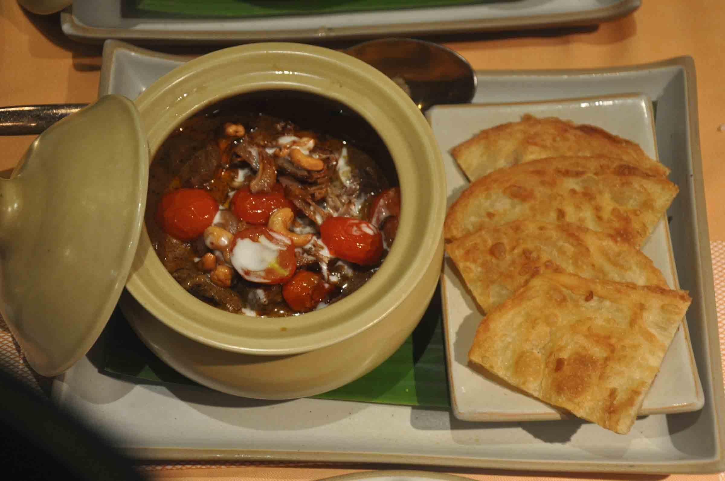 Saffron Macau beef curry